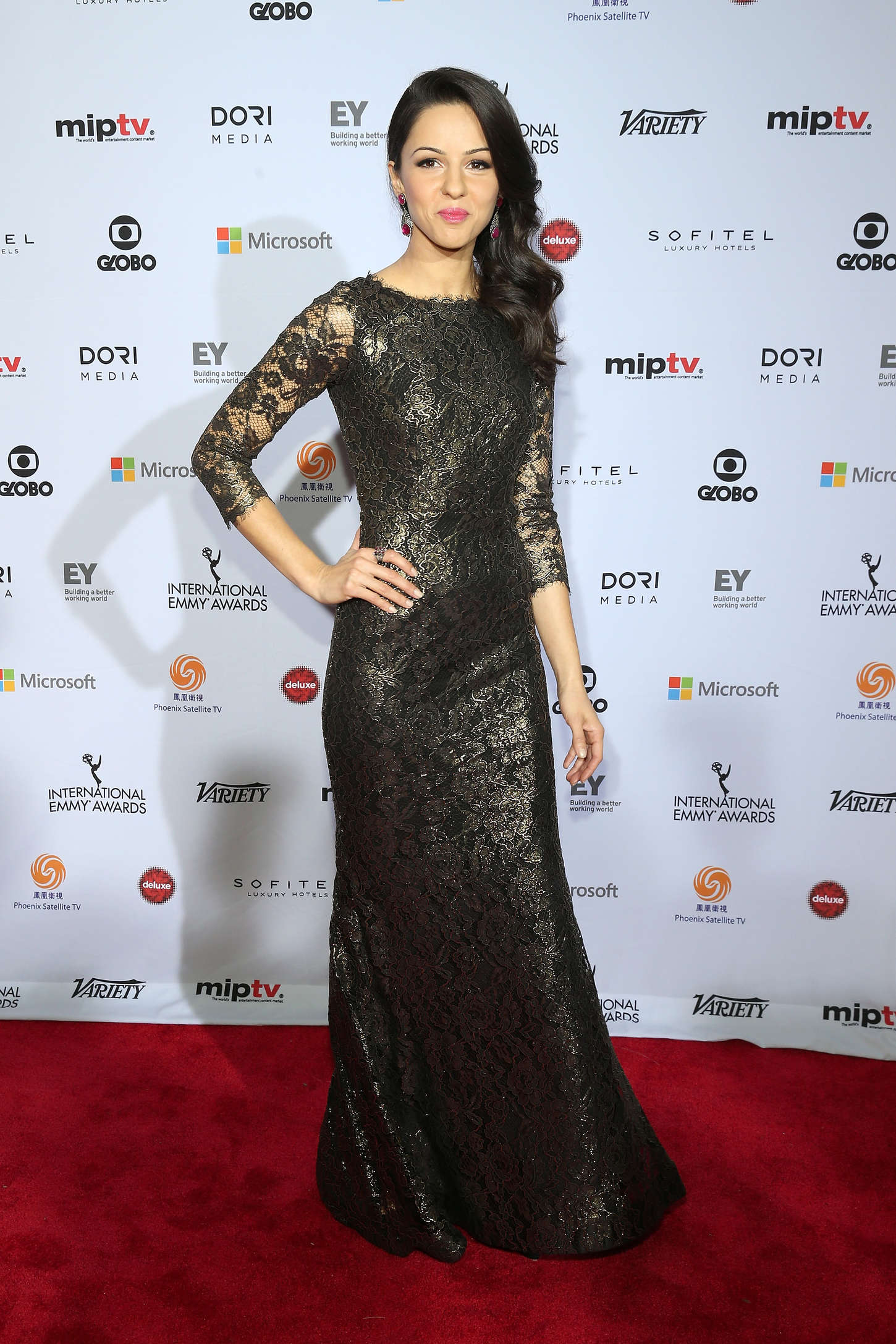 Annet Mahendru International Academy Of Television Arts Sciences Emmy Awards in New York