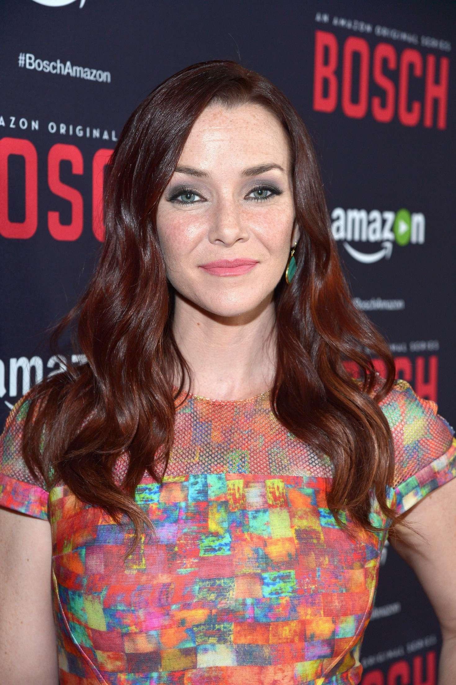 Annie Wersching Bosch Season Premiere in West Hollywood