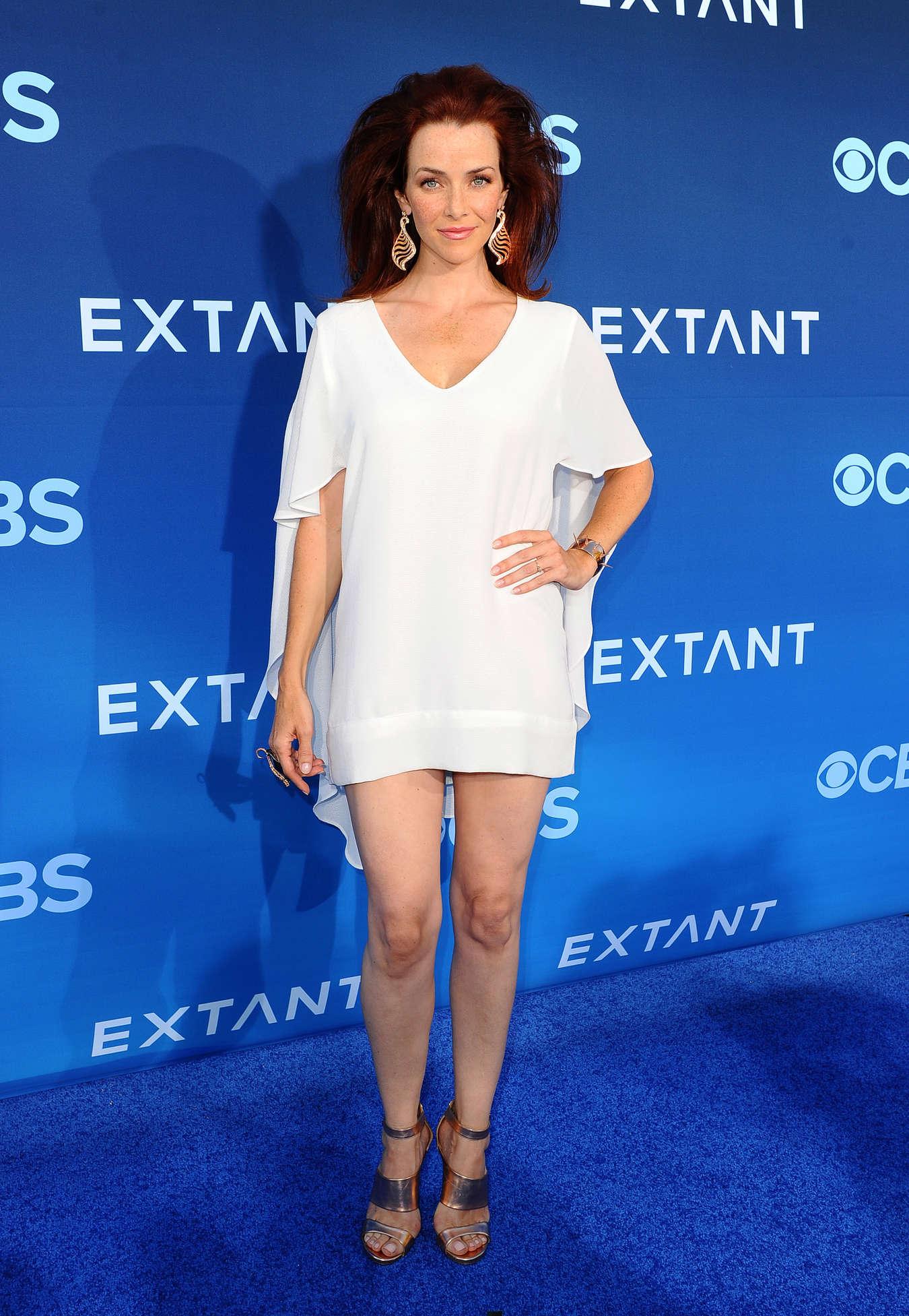 Annie Wersching Extant premiere in Los Angeles