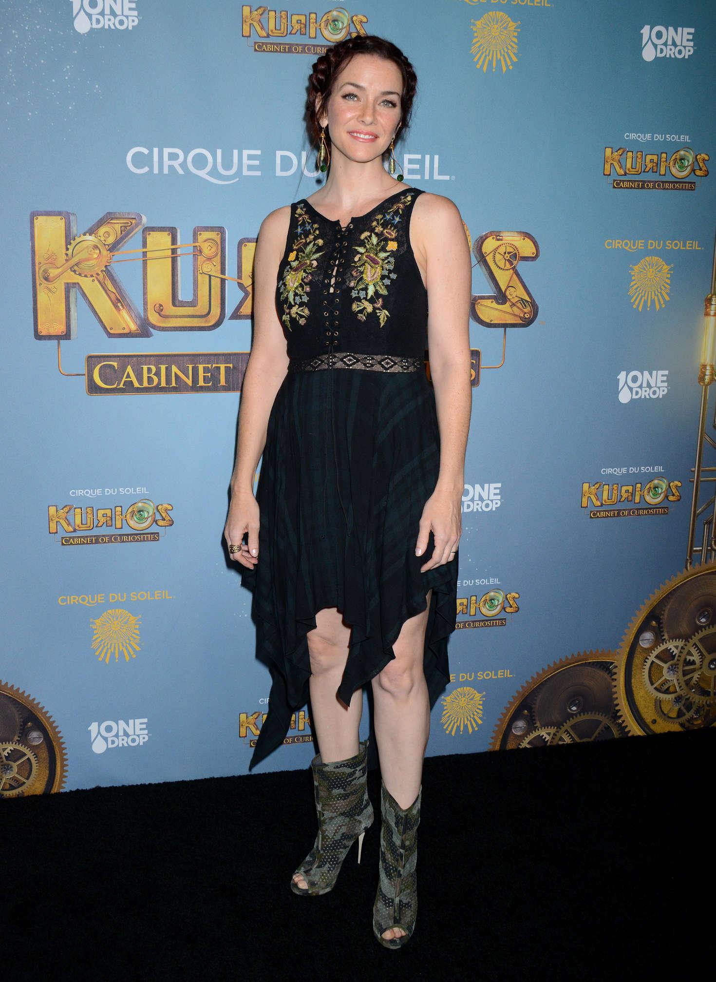Annie Wersching Opening Night of Cirque Du Soleils Kurios-Cabinet Of Curiosities in Los Angeles