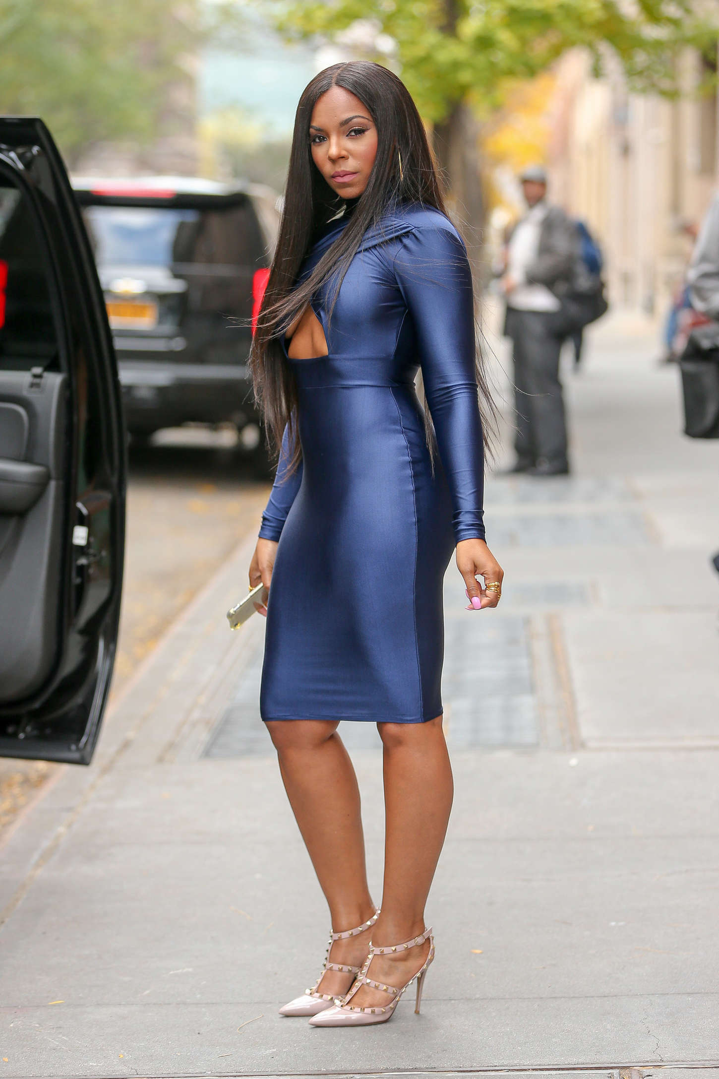 Ashanti The View in New York City