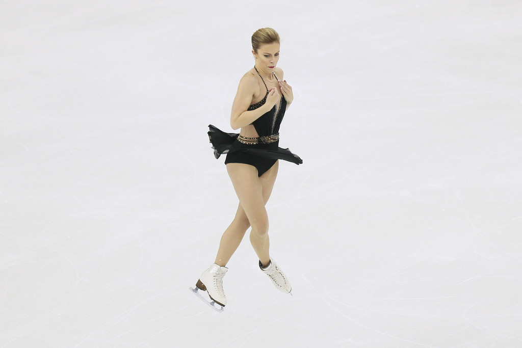 Ashley Wagner ISU World Figure Skating Championships in Shanghai