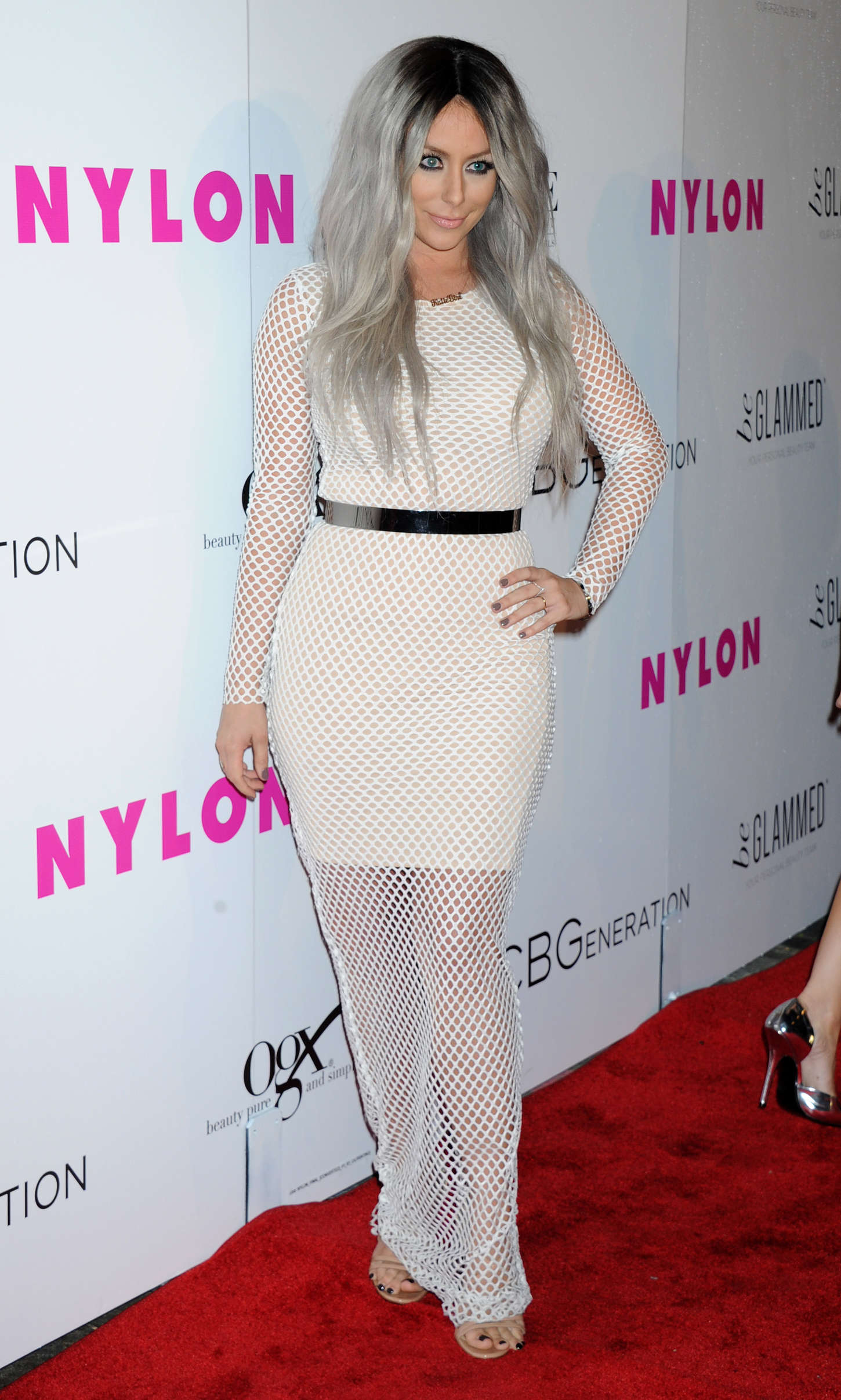 Aubrey ODay NYLON Young Hollywood Party presented by BCBGeneration in Hollywood