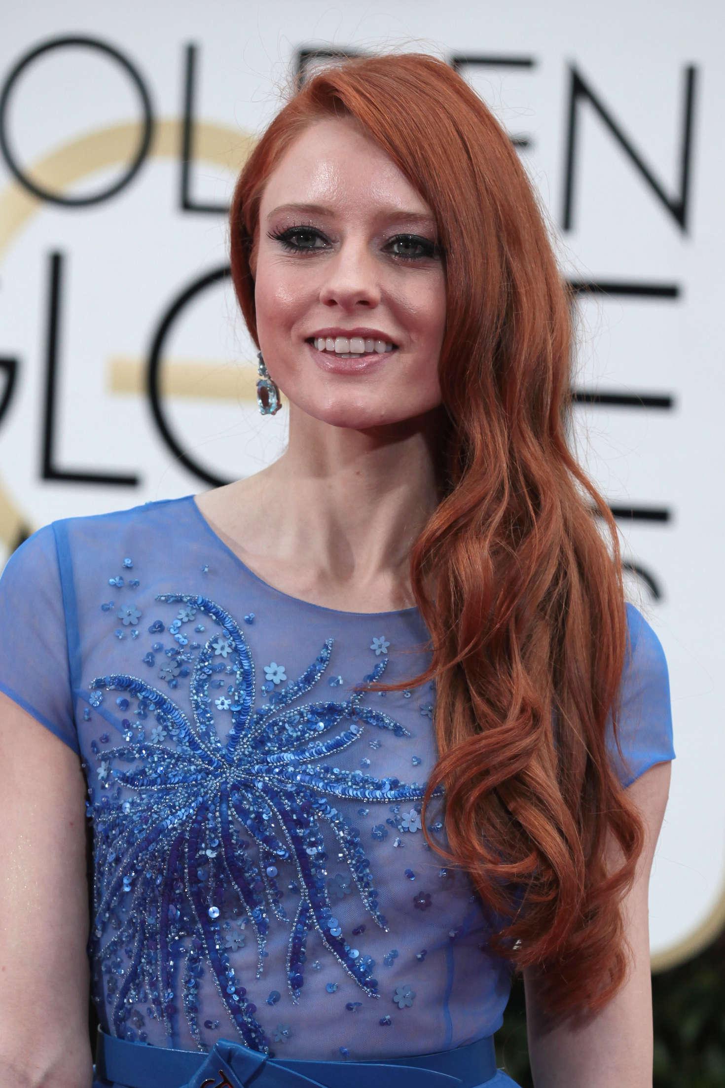 Barbara Meier Golden Globe Awards in Beverly Hills