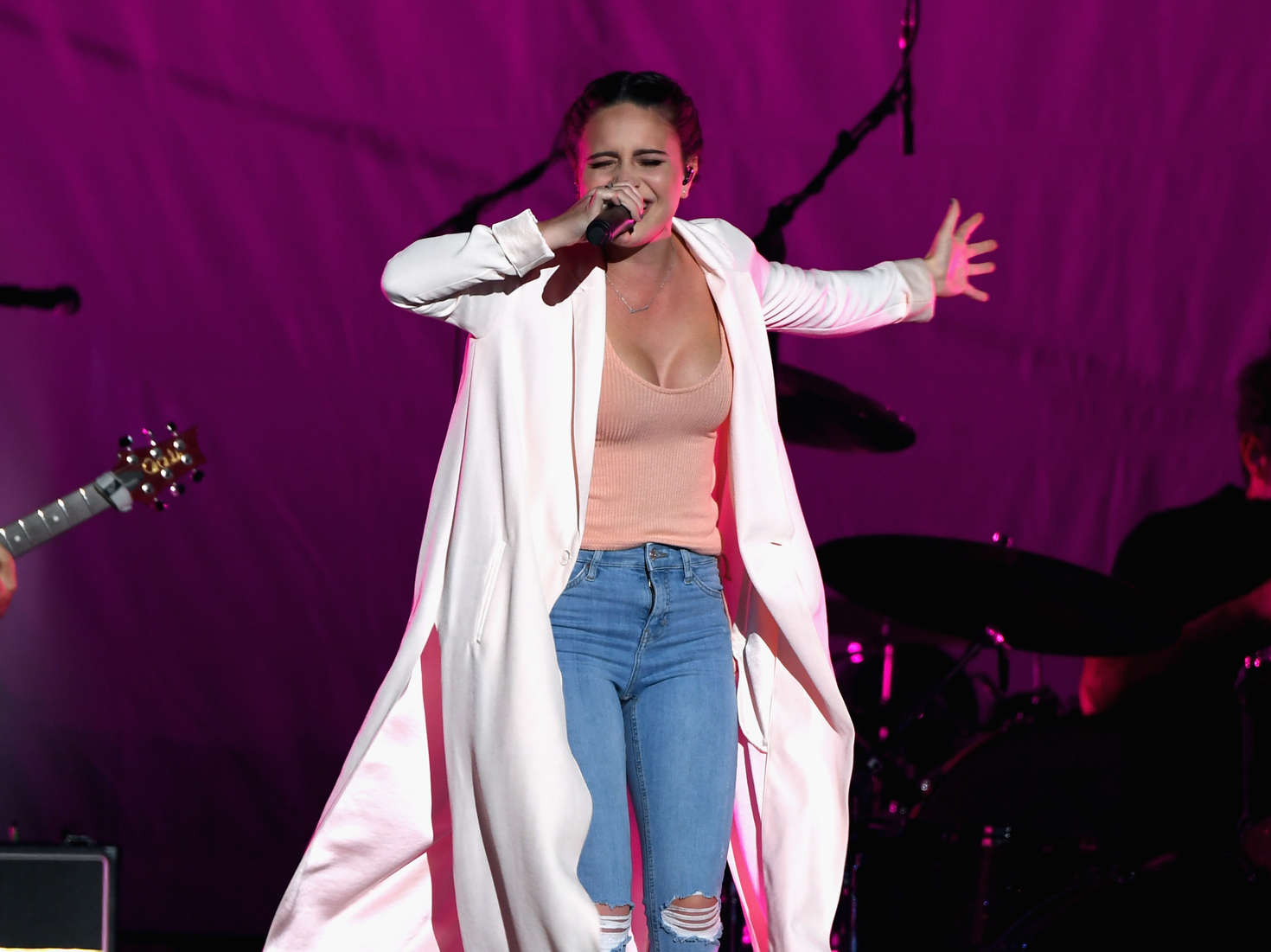 Bea Miller Performs on Selena Gomez Revival World Tour in Las Vegas