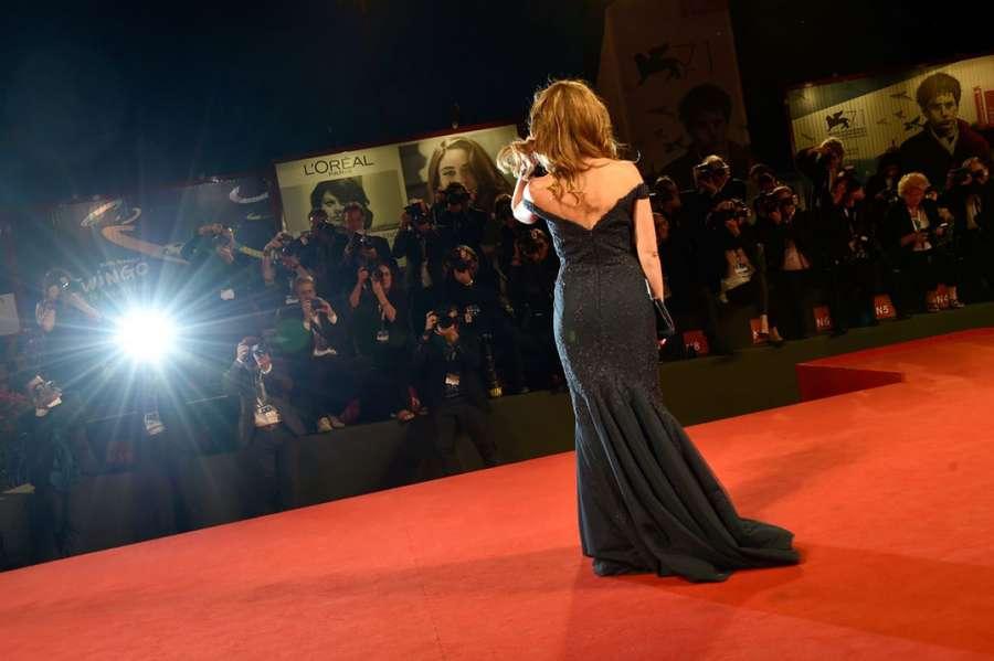 Belen Rodriguez Pasolini Premiere in Venice