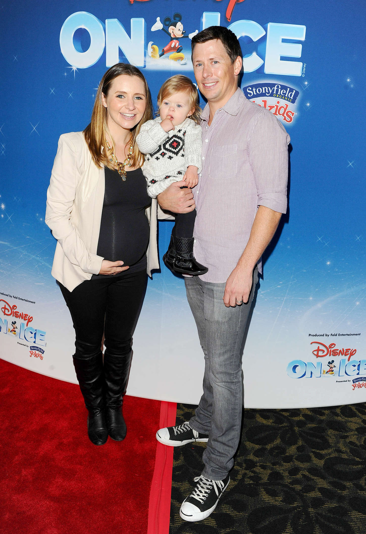 Beverley Mitchell Disney On Ice Presents Lets Celebrate! in Los Angeles