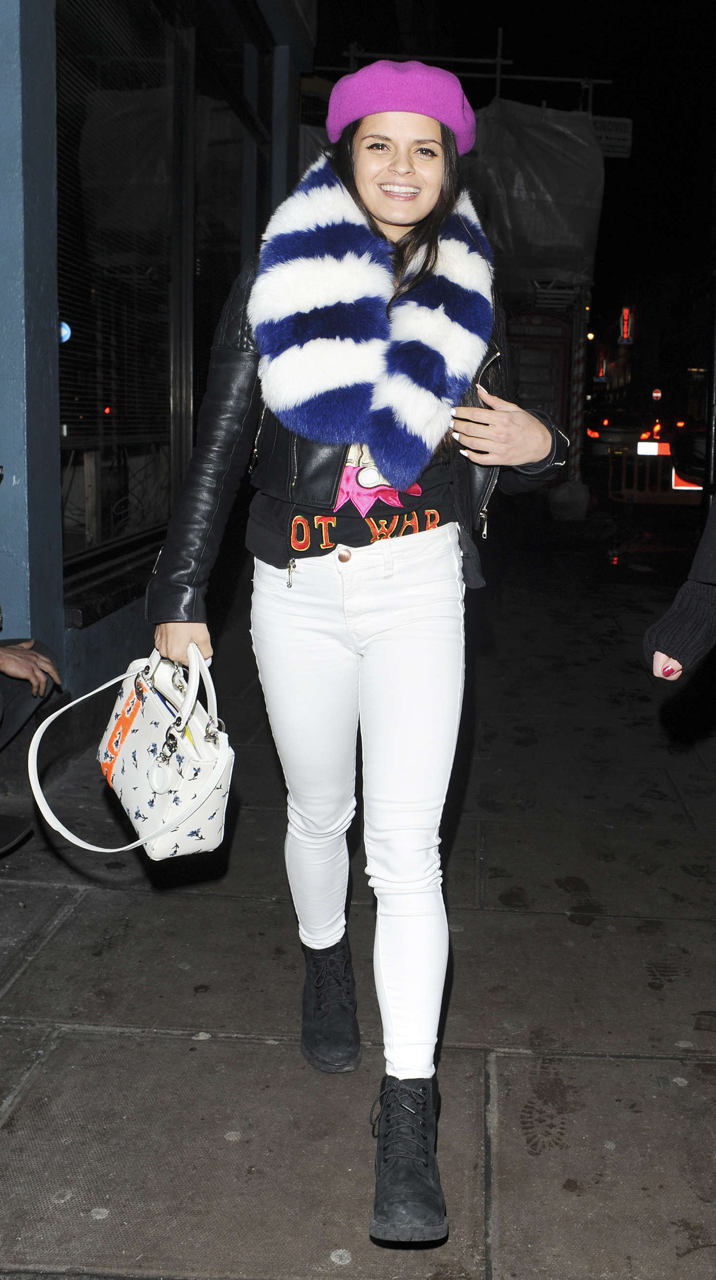 Bip Ling Leaving Groucho in London