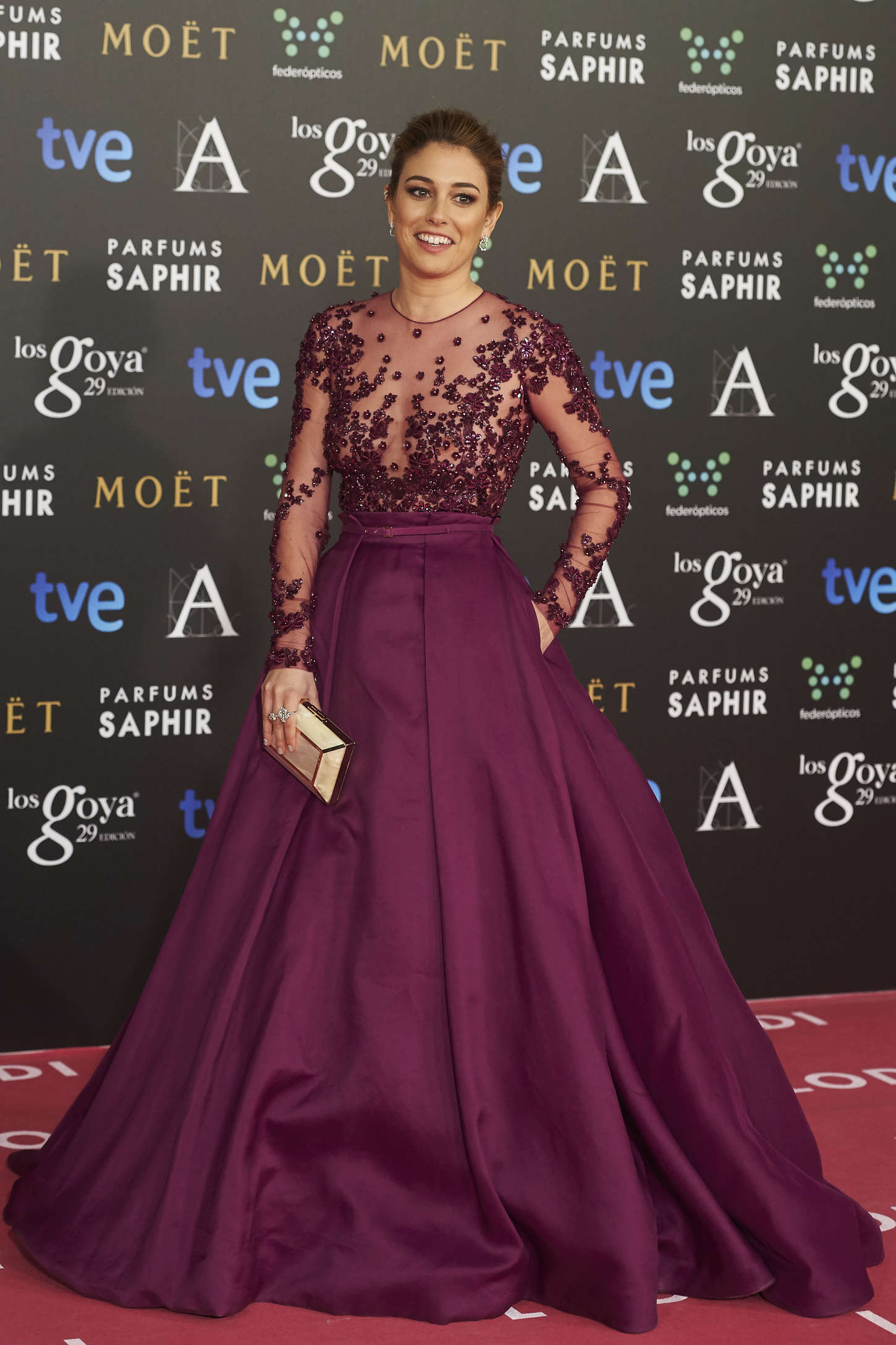 Blanca Suarez Goya Cinema Awards in Madrid