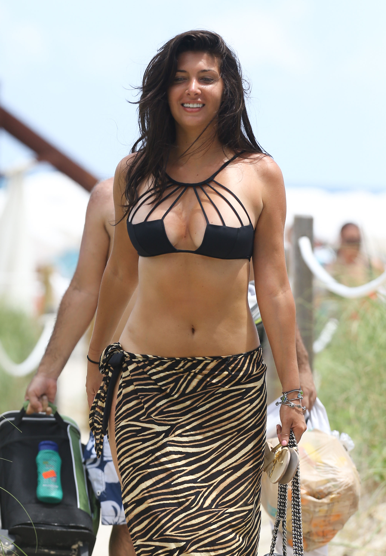 Brittny Gastineau Bikini Candids