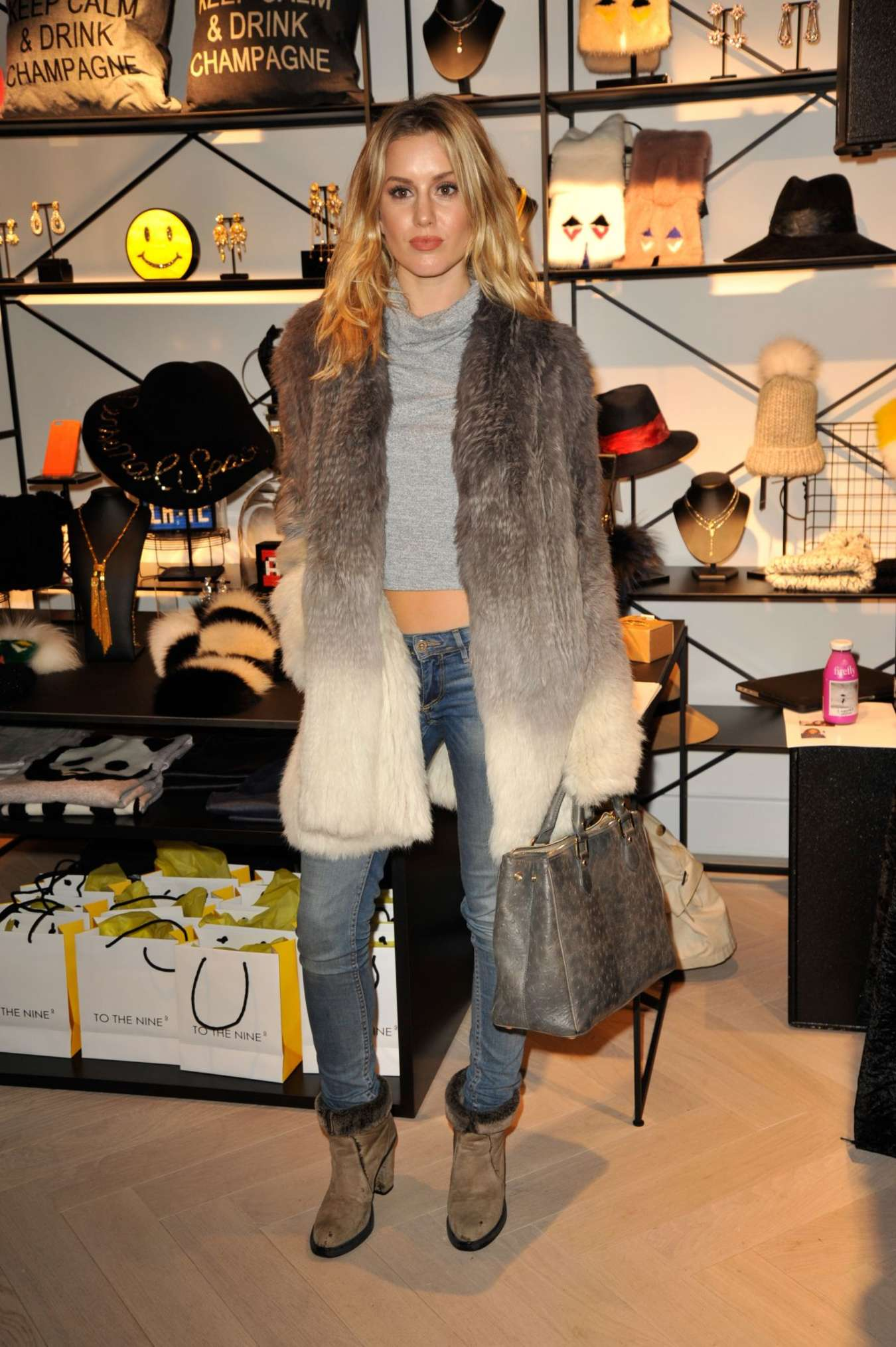 Caggie Dunlop To The Nine Store Launch in London