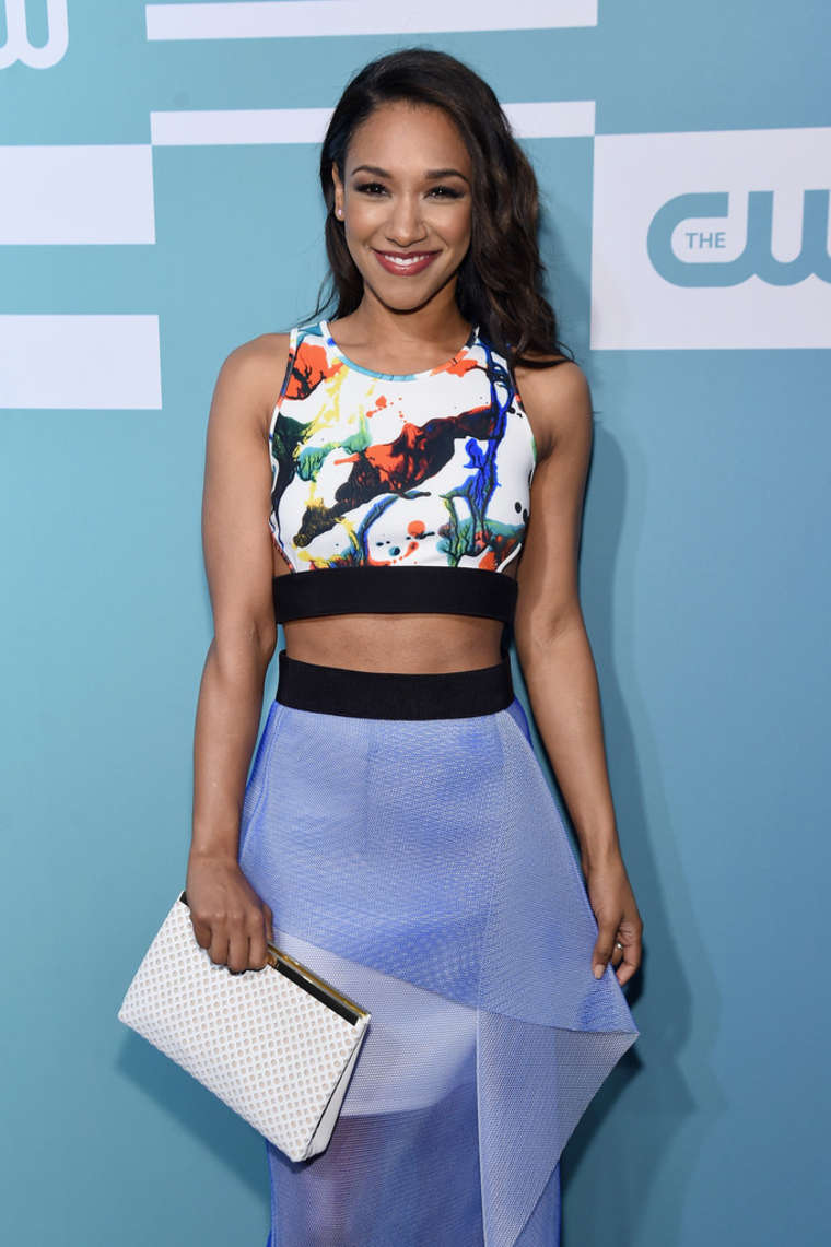 Candice Patton CW Networks Upfront in New York
