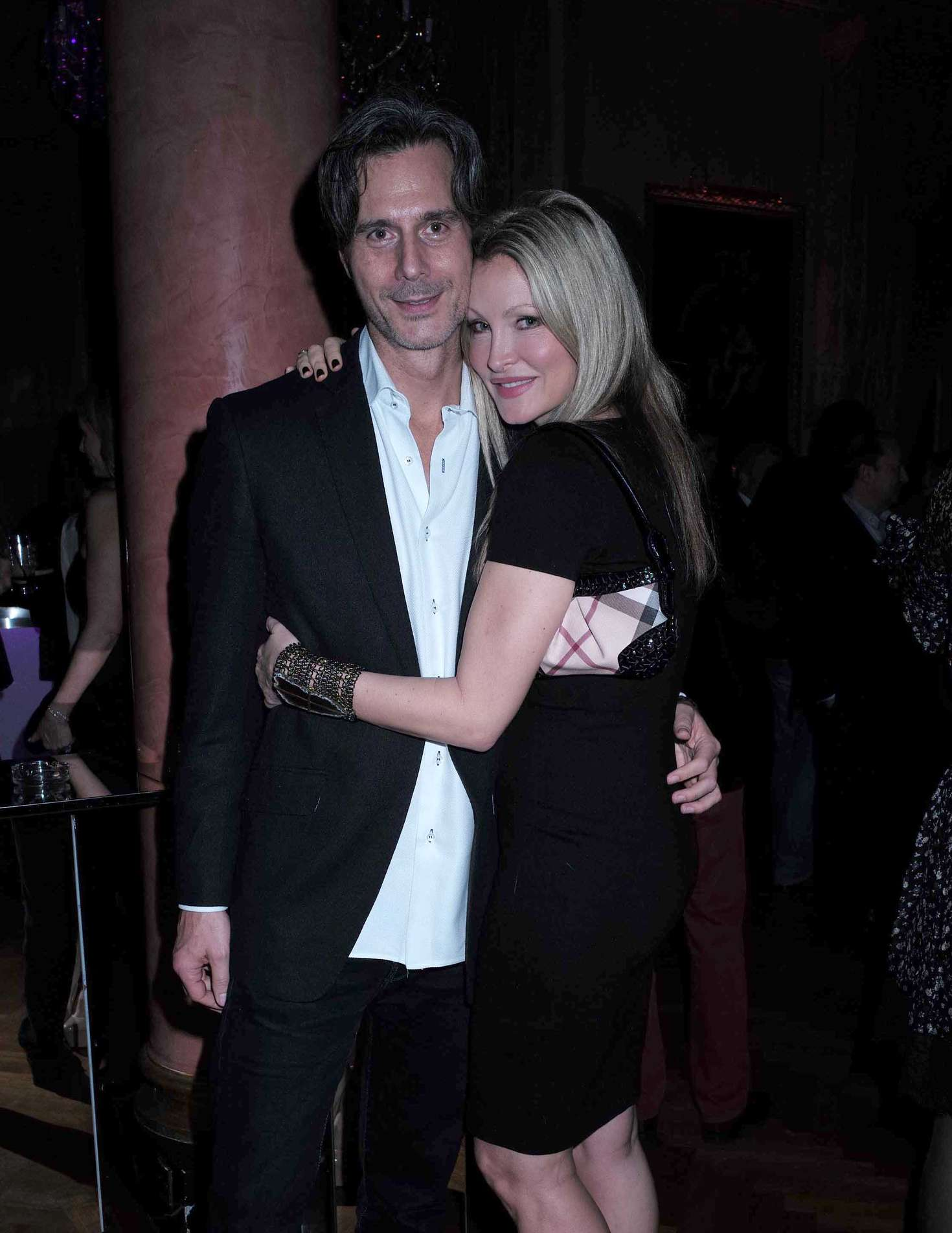 Caprice Bourret Lisa Tchenguizs Birthday Party in London