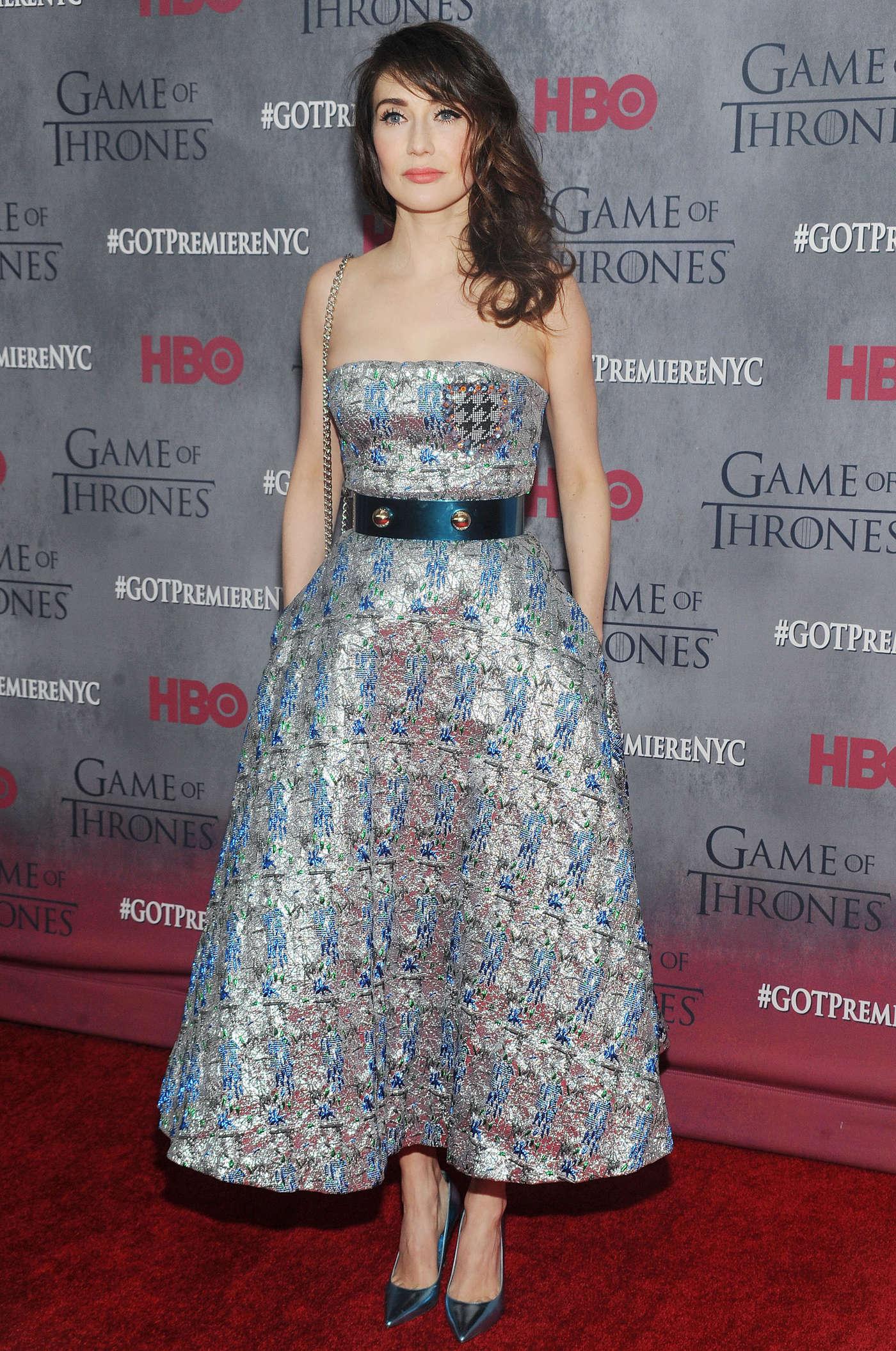 Carice van Houten Game of Thrones Premiere in New York