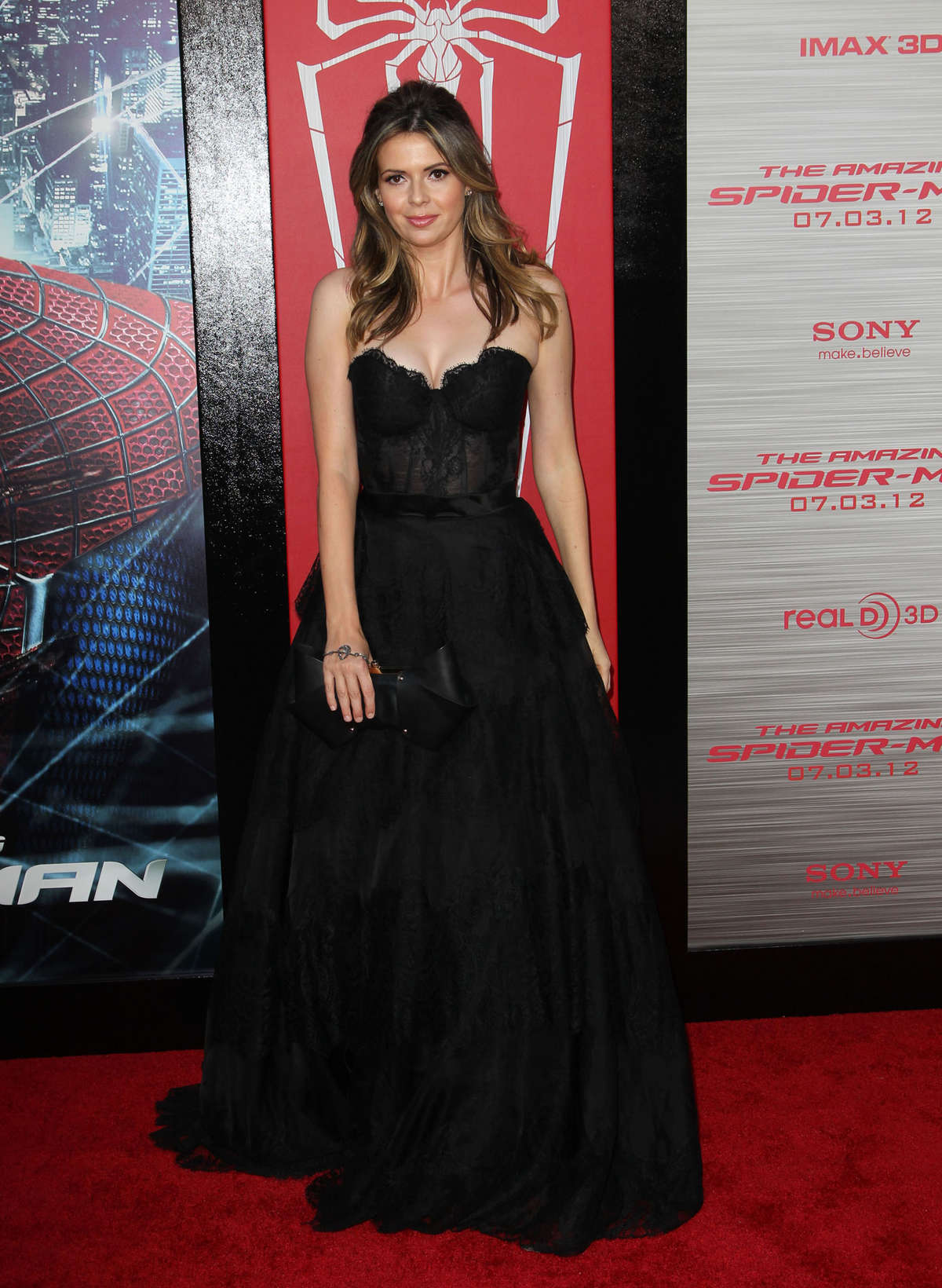 Carly Steel The Amazing Spider Man- Premiere in Westwood