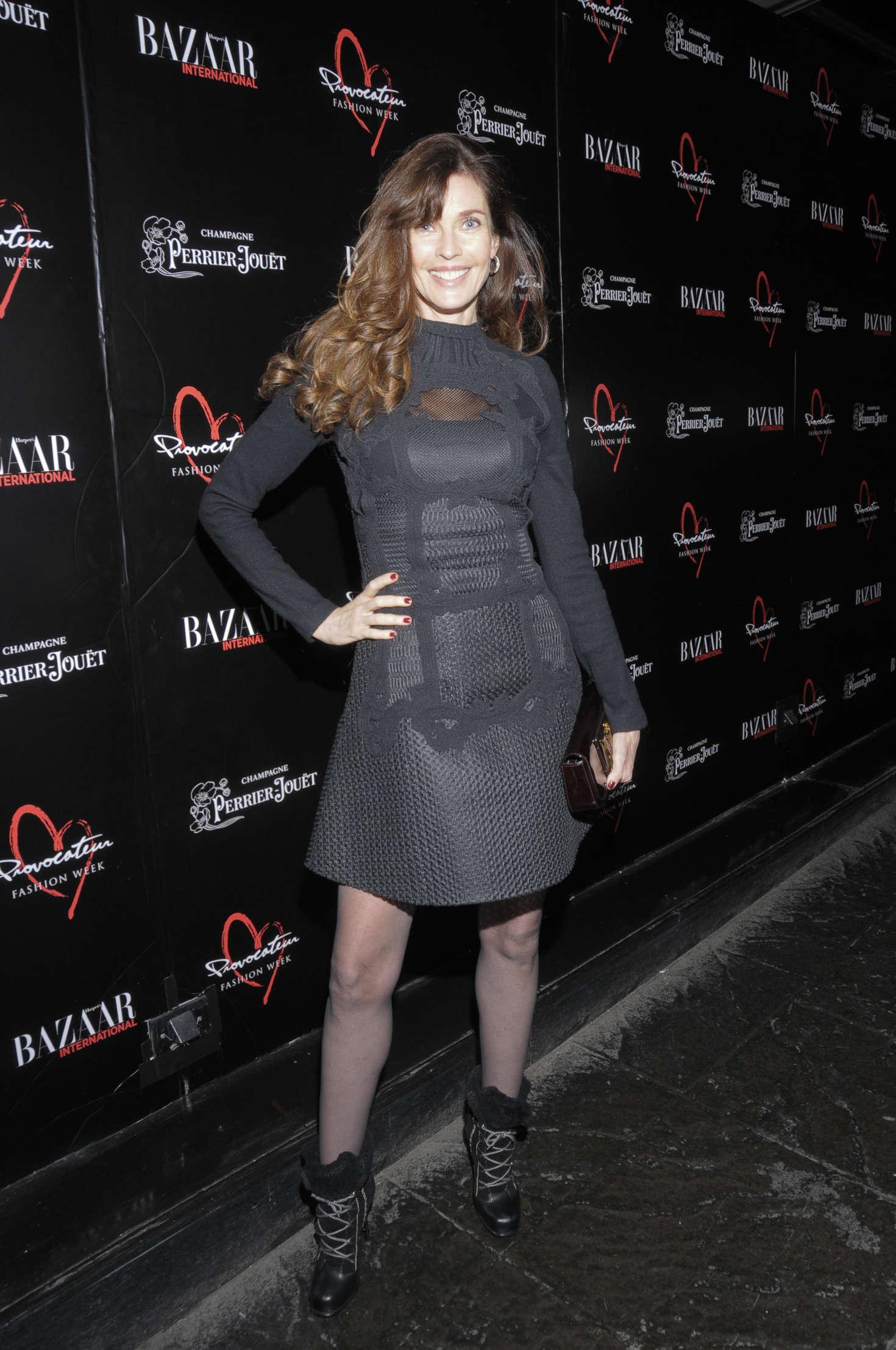 Carol Alt Harpers Bazaar International Celebrates Fashion Cinema at Provocateur in New York