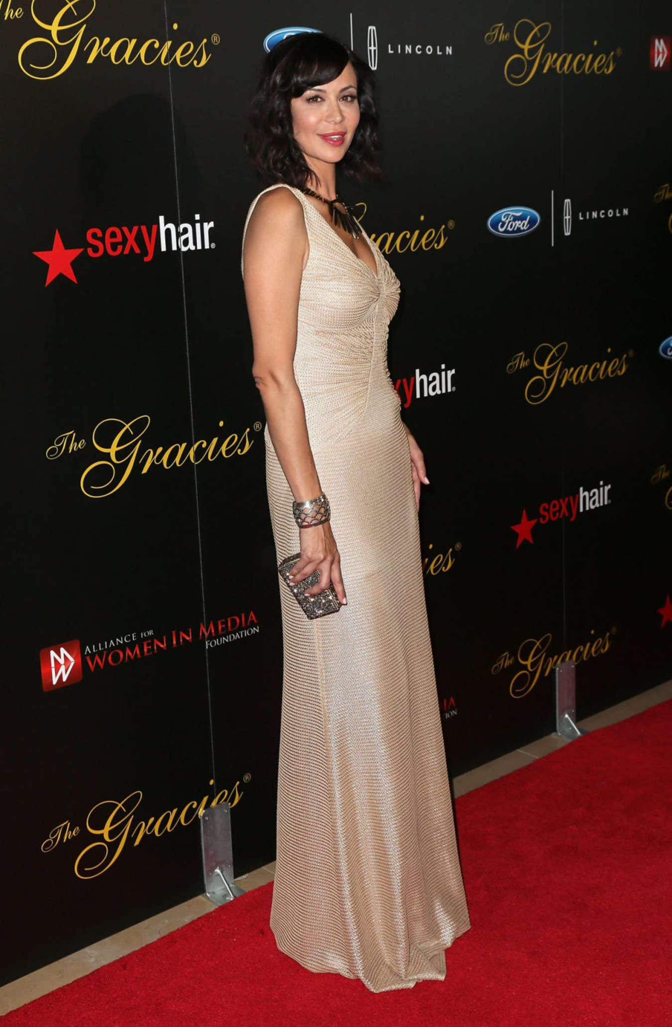 Catherine Bell Annual Gracie Awards Gala at The Beverly Hilton Hotel