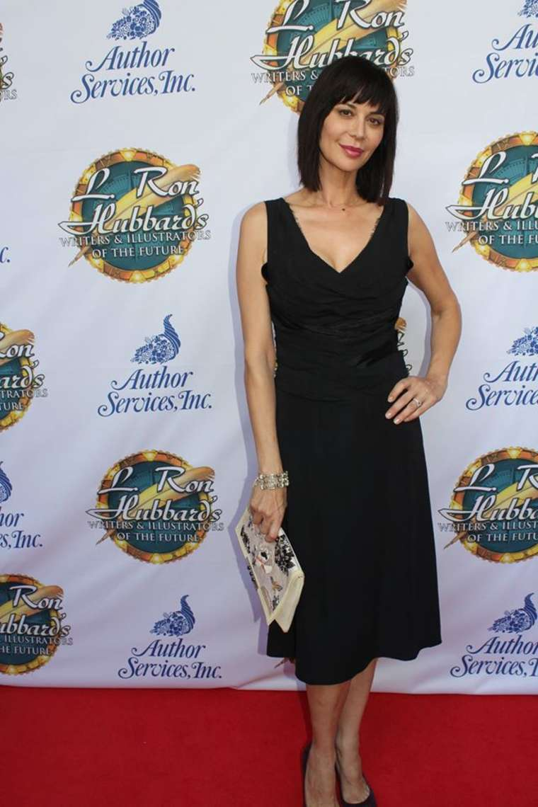 Catherine Bell Future Awards Ceremony in Hollywood