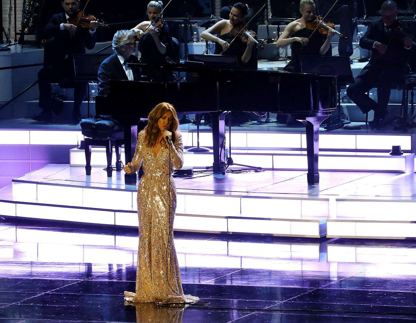 Celine Dion at Colosseum in Las Vegas