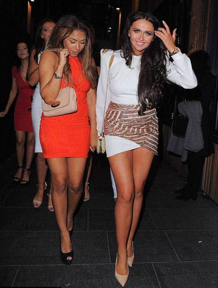 Charlotte Dawson at Her Birthday Party in Manchester