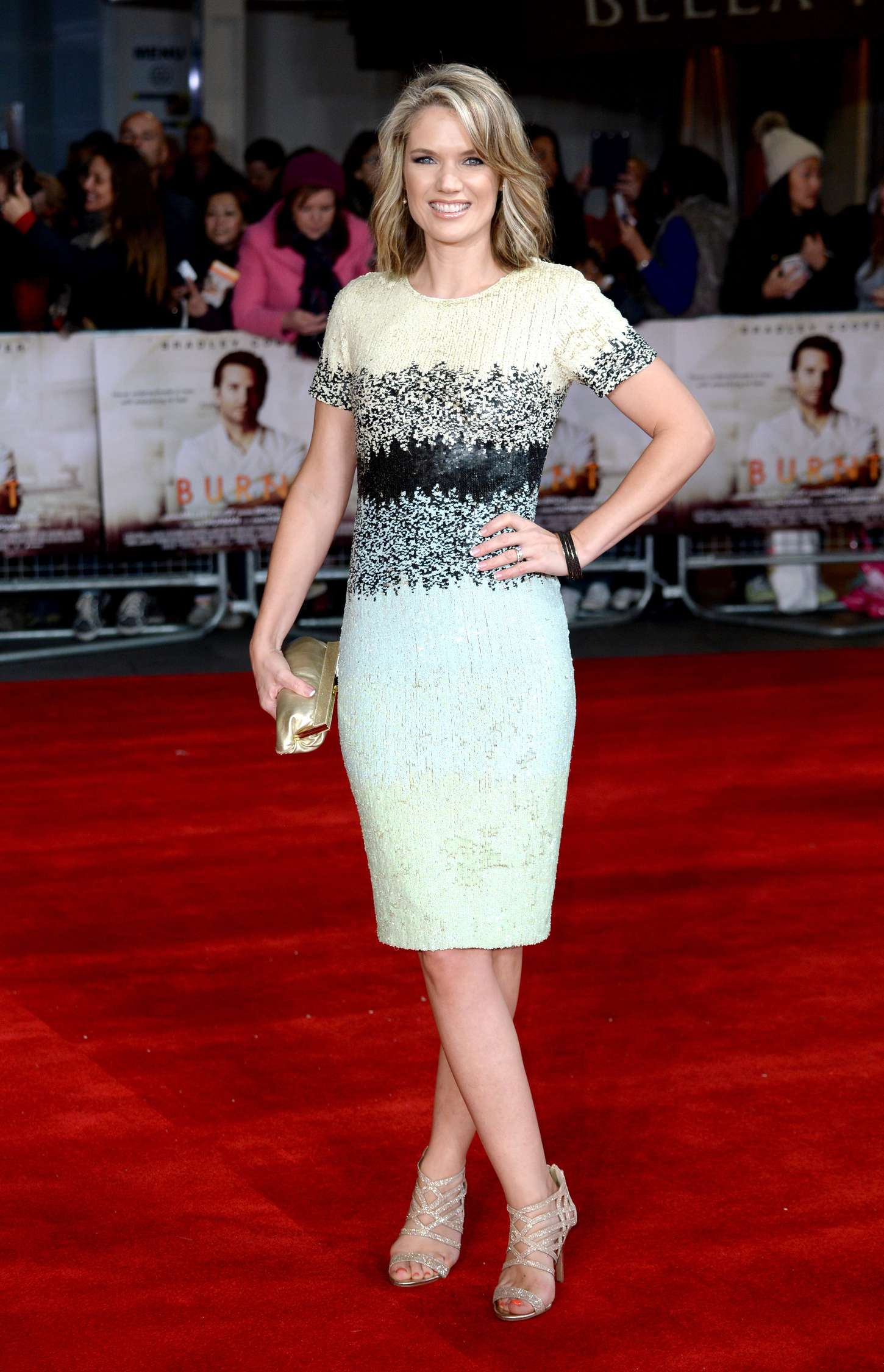 Charlotte Hawkins Burnt Premiere in London