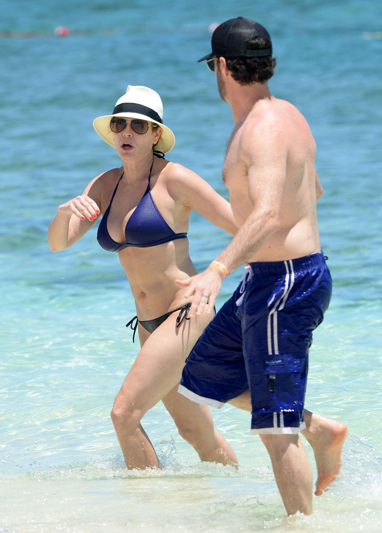 Chelsea Handler Wearing Bikini in Bahamas