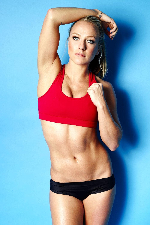 Chloe Madeley Workout Photoshoot