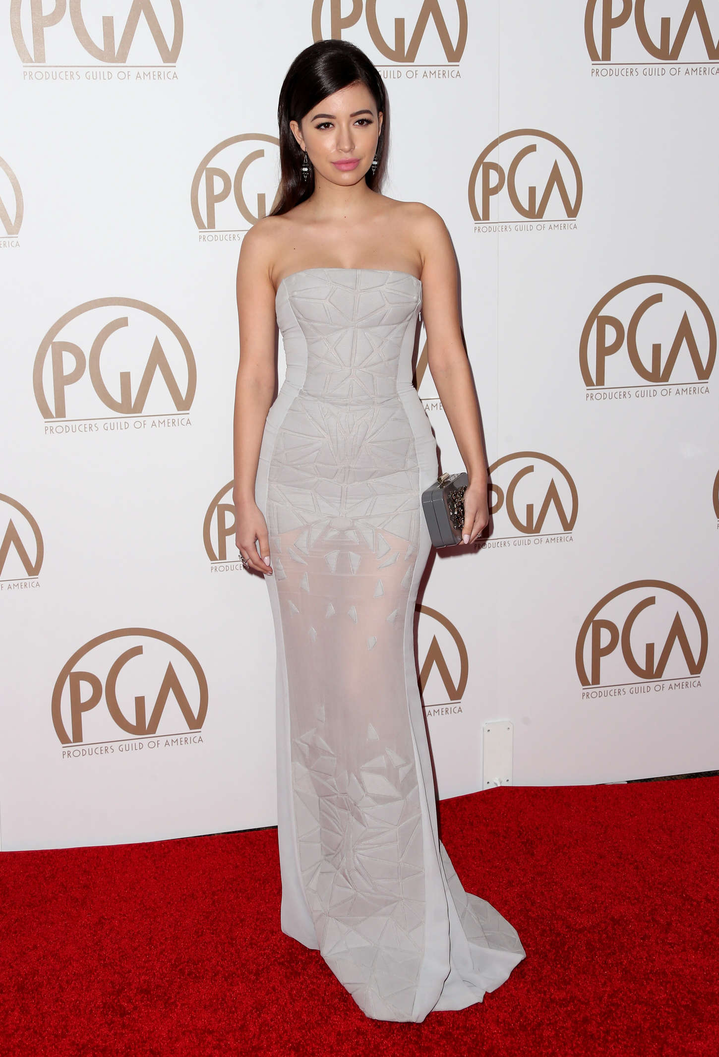 Christian Serratos Annual Producers Guild Of America Awards in Los Angeles
