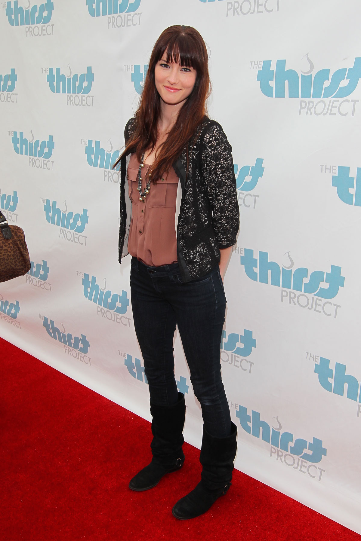 Chyler Leigh The Thirst Project Celebrates World Water Day in Santa Monica