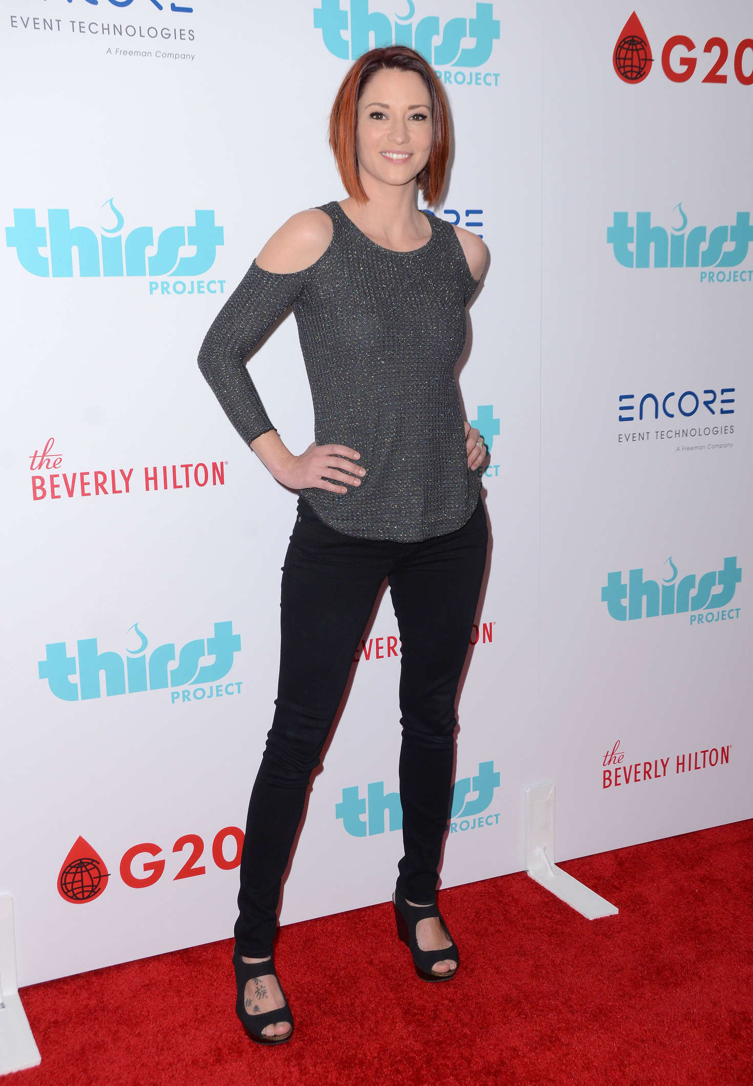 Chyler Leigh Thirst Project World Water Day Press Conference in Beverly Hills