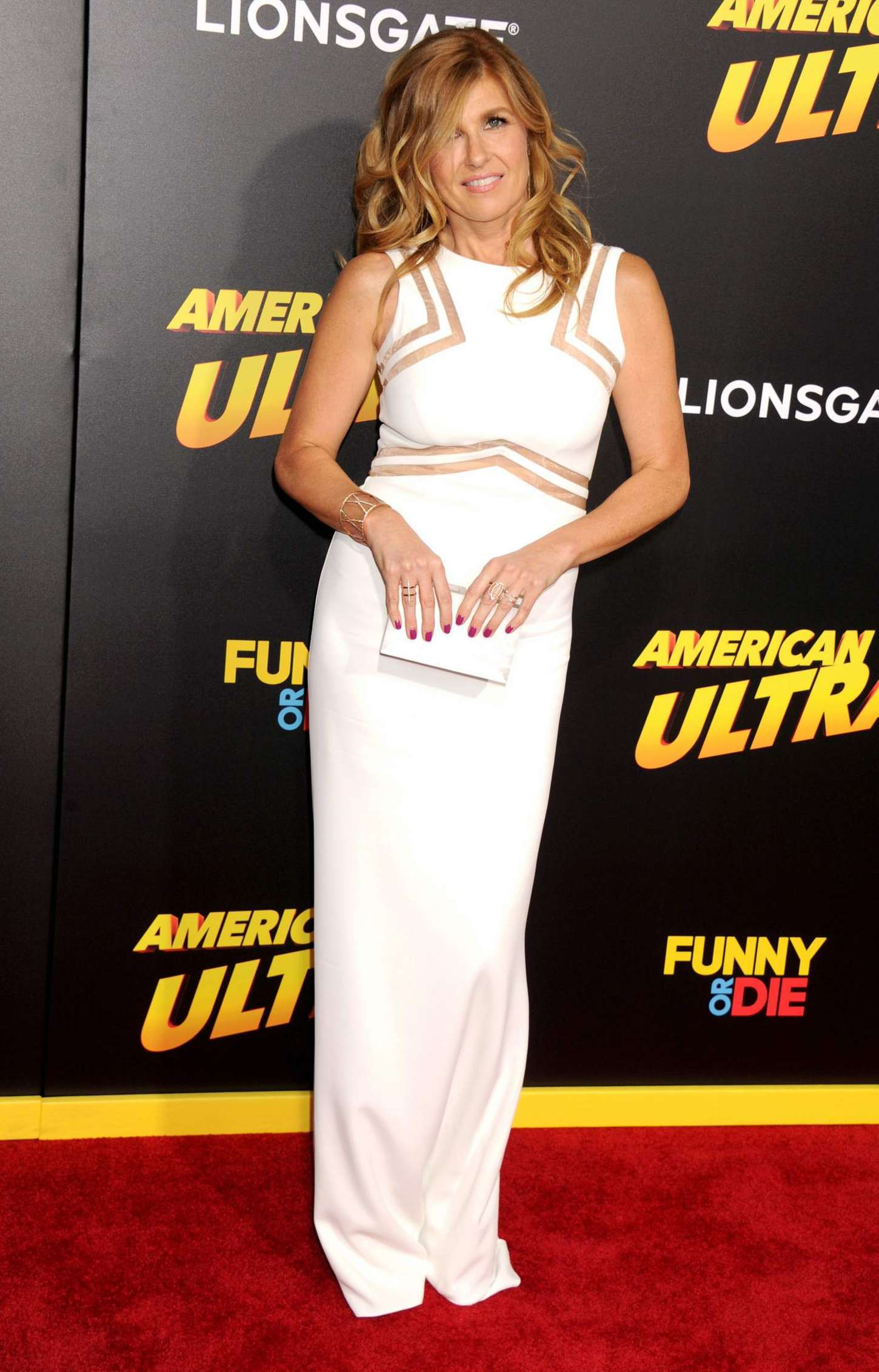 Connie Britton American Ultra Premiere in Los Angeles