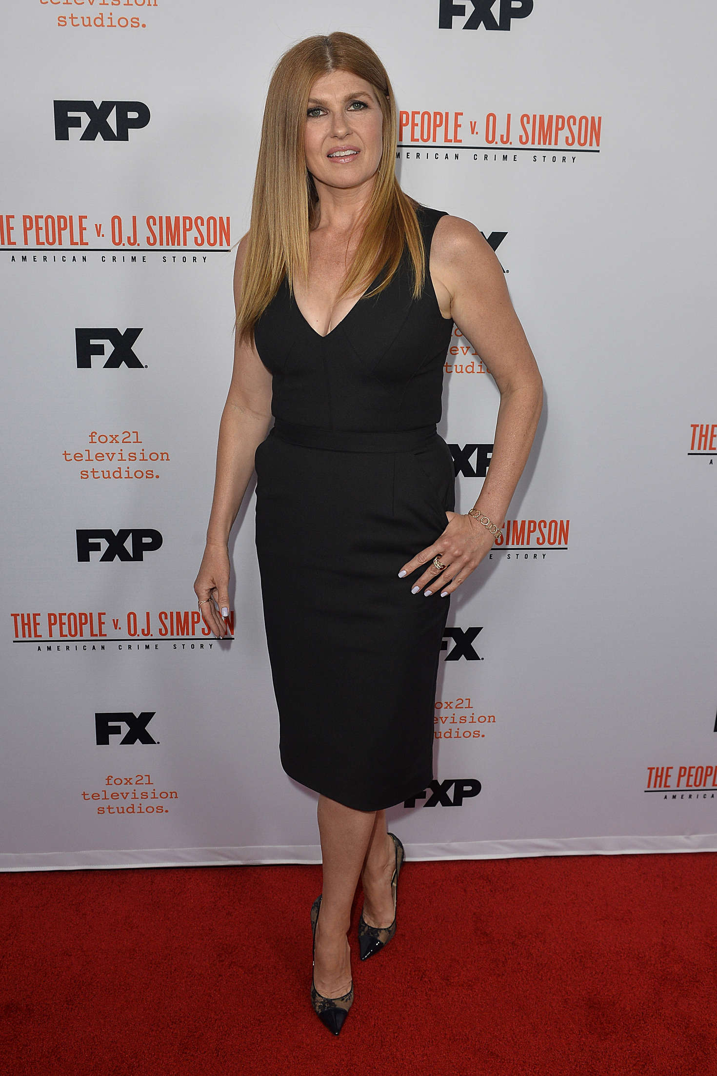 Connie Britton The People v. OJ Simpson Finale in Los Angeles