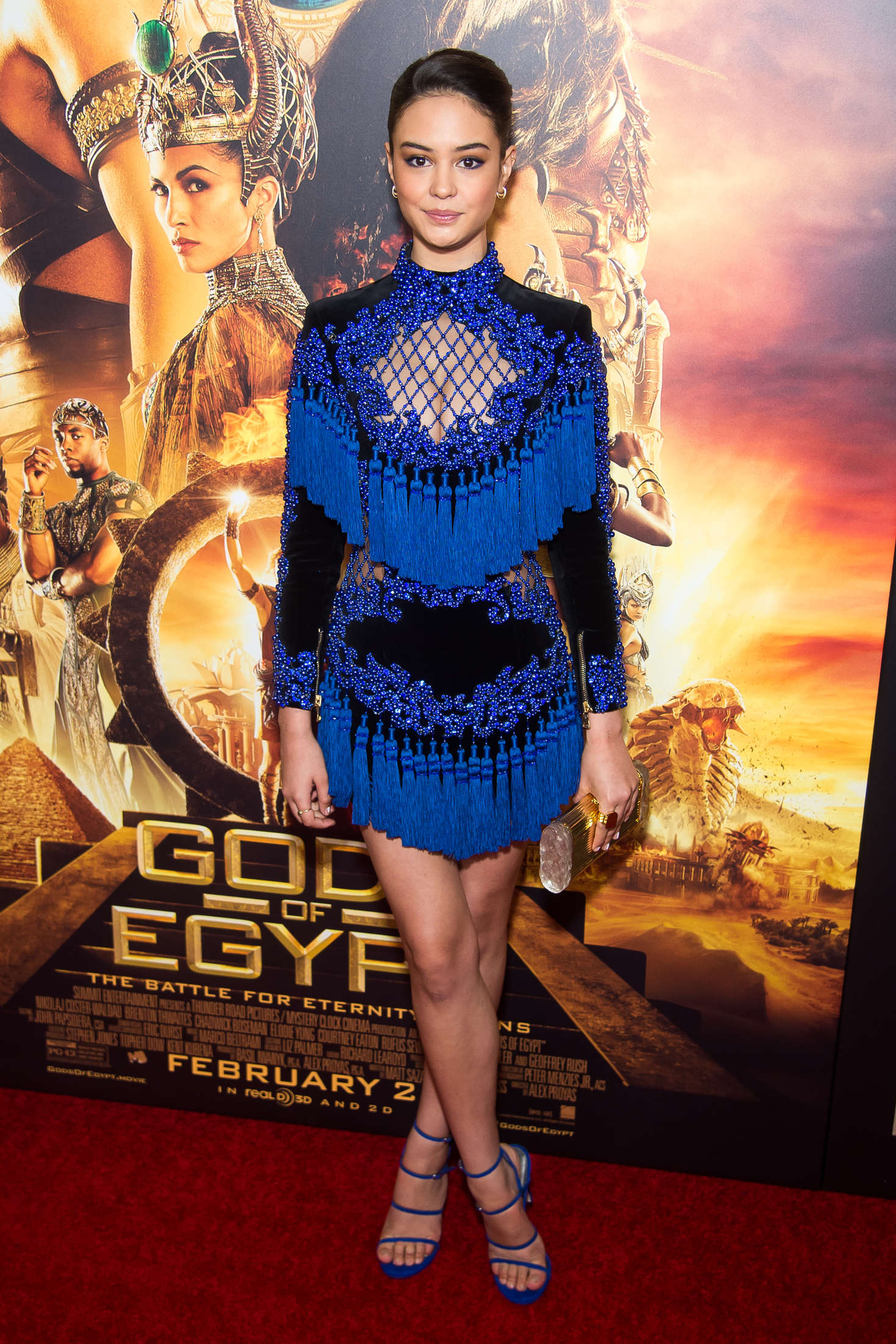 Courtney Eaton Gods Of Egypt Premiere in New York