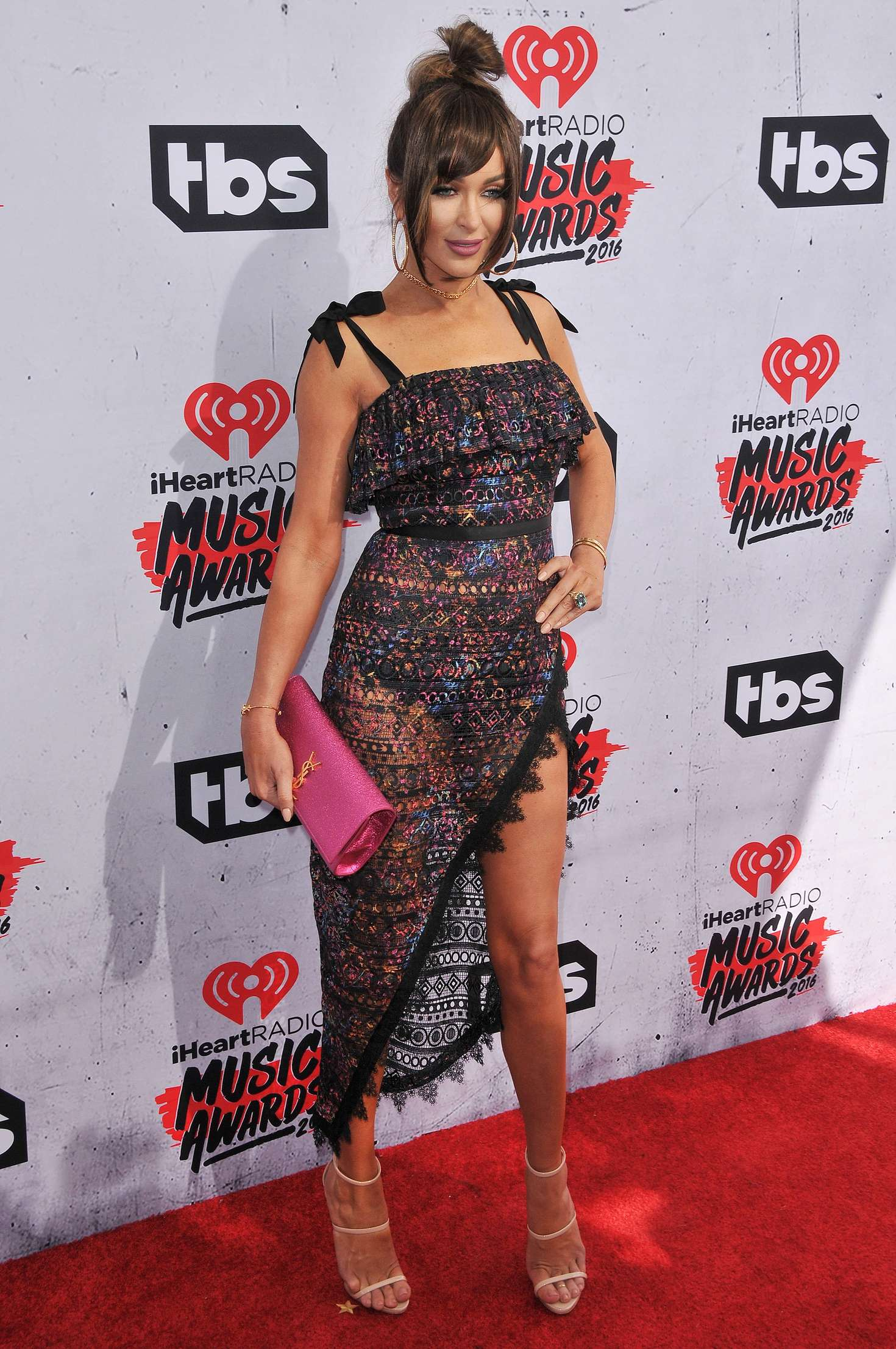 Courtney Sixx iHeartRadio Music Awards in Los Angeles