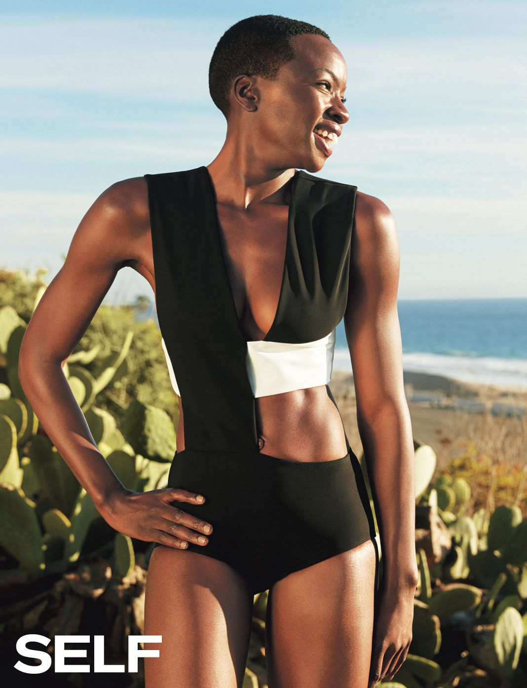 Danai Gurira SELF Magazine