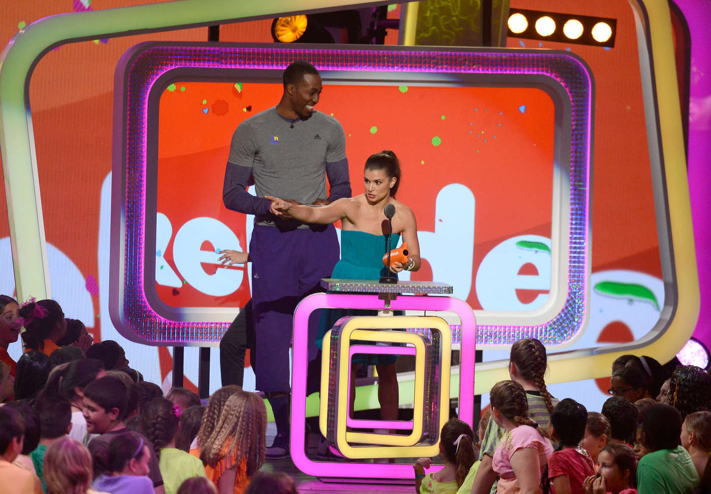 Danica Patrick Annual Kids Choice Awards in Los Angeles