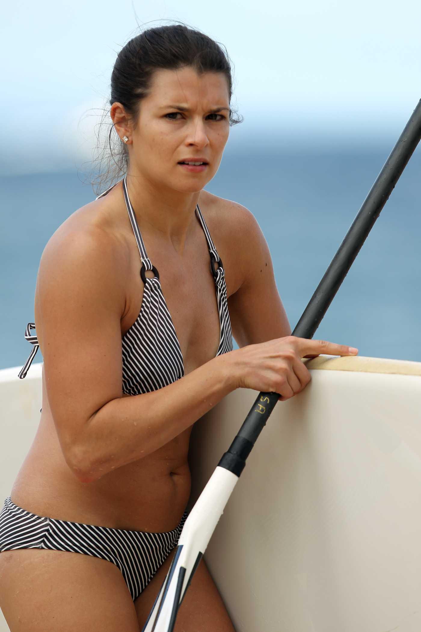 Danica Patrick Bikini Candids in Hawaii