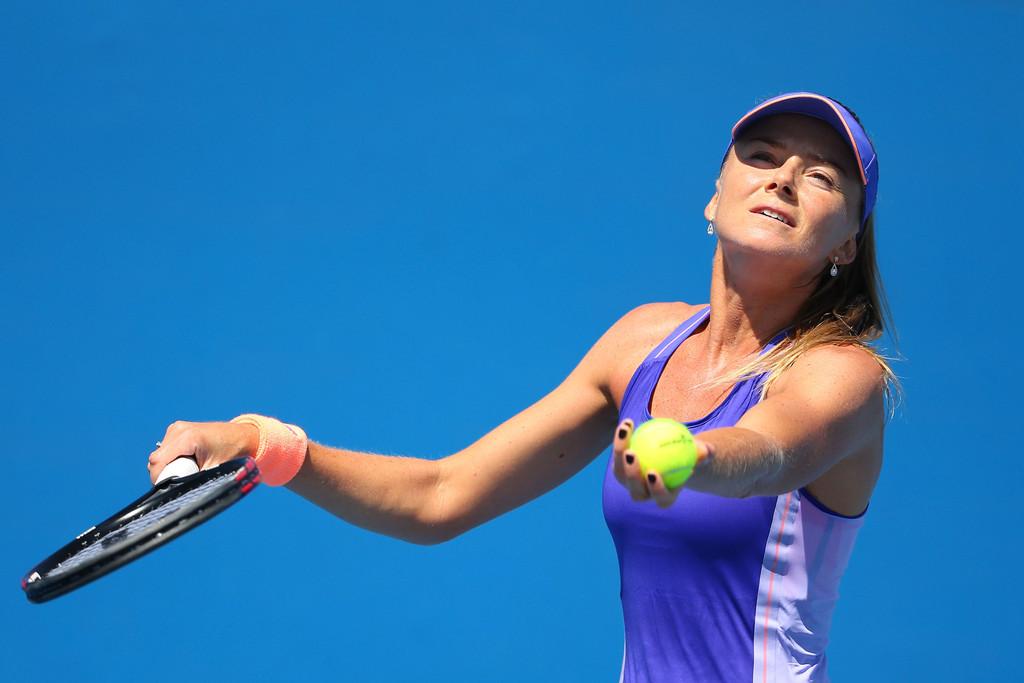 Daniela Hantuchova Australian Open round
