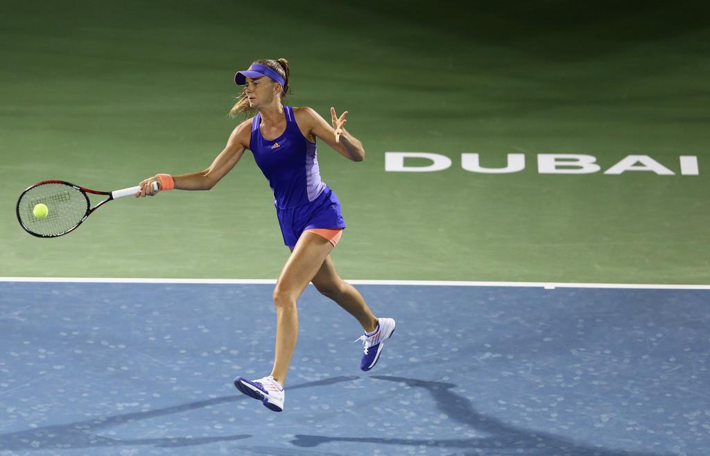 Daniela Hantuchova WTA Dubai Duty Free Tennis Championship in Dubai