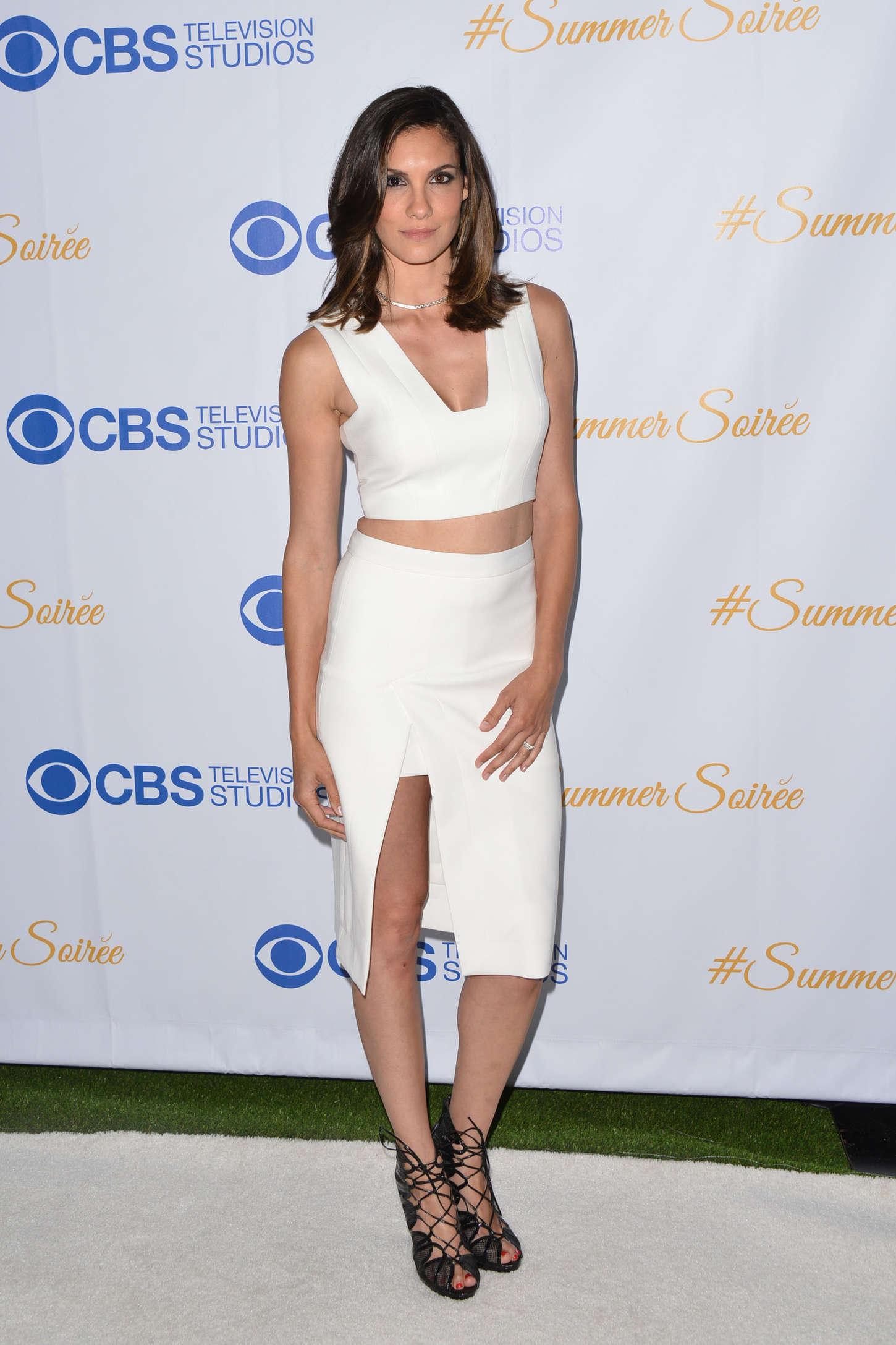 Daniela Ruah The CBS Television Studios Annual Summer Soiree in West Hollywood