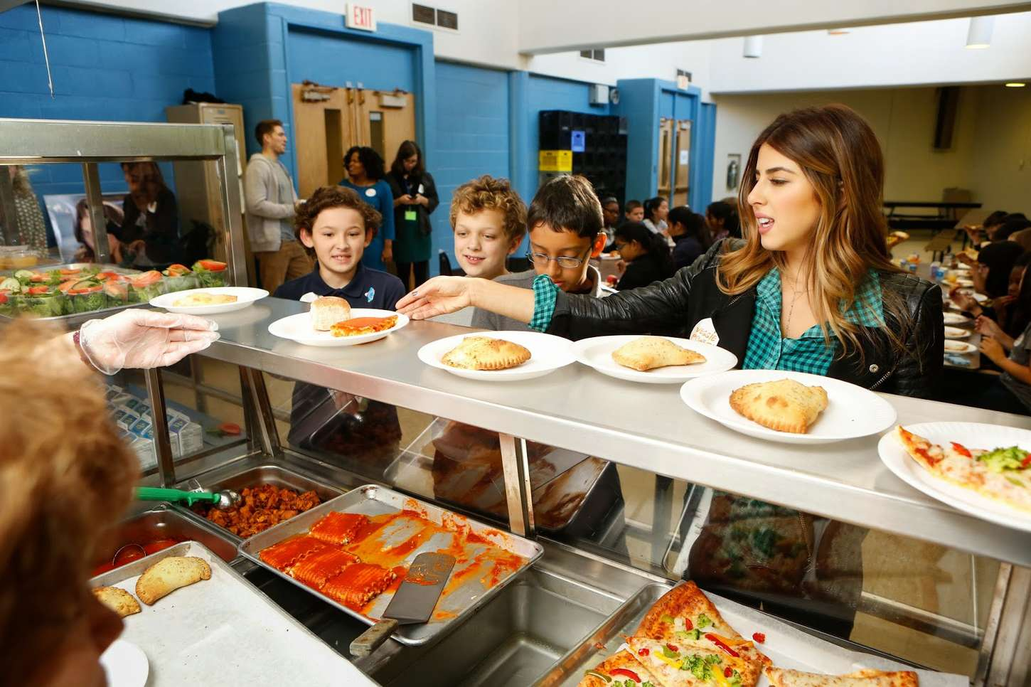 Daniella Monet Lean Green on a Meatless Monday in Philly
