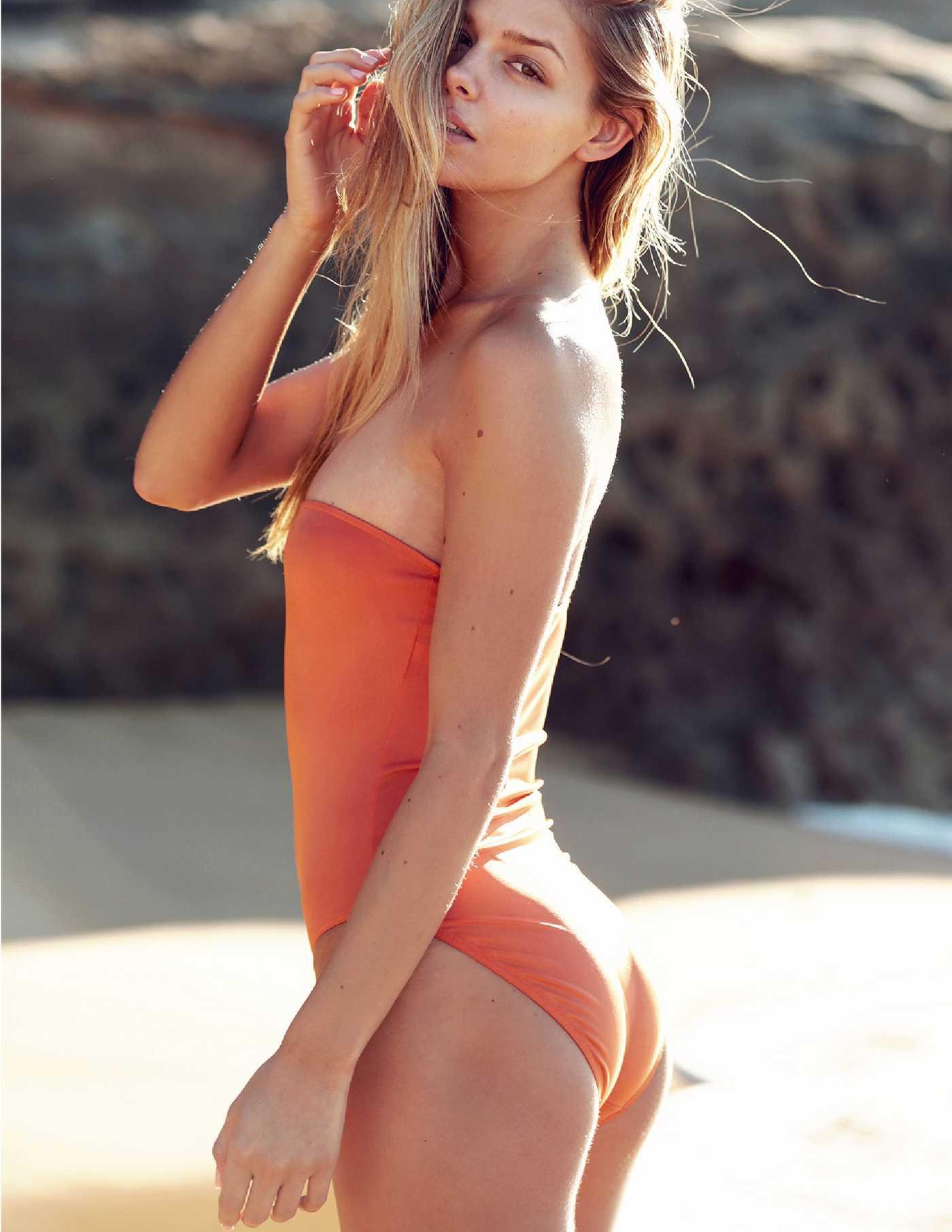 Danielle Knudson by Cameron Hammond Beach Photoshoot
