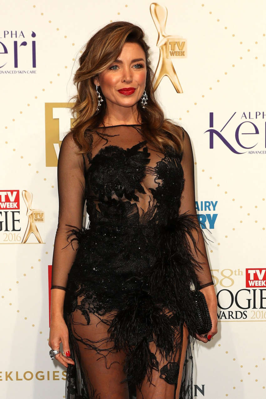 Dannii Minogue Annual Logie Awards in Melbourne