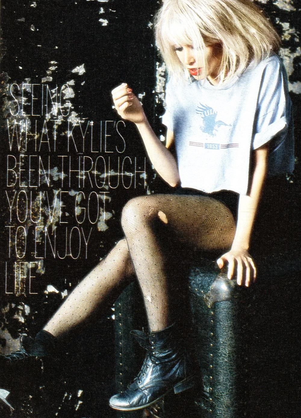 Dannii Minogue Fabulous Magazine