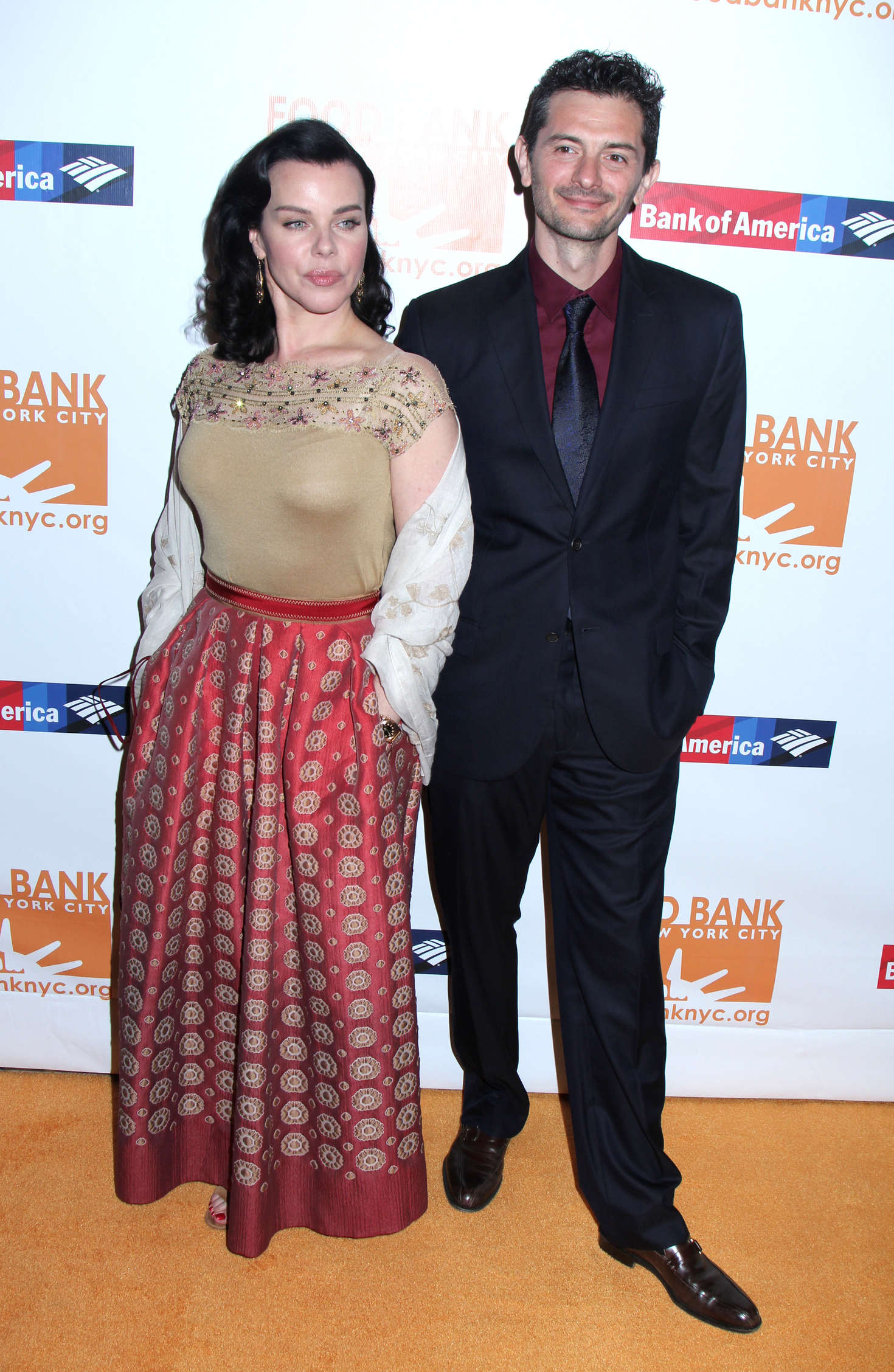 Debi Mazar Food Bank For New York Can-Do Awards Dinner in New York
