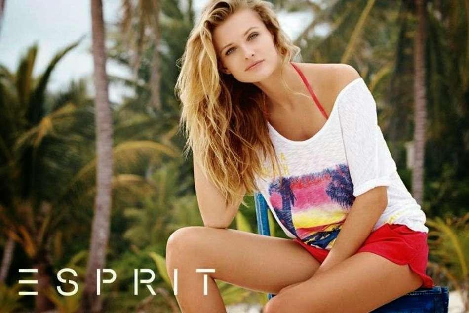 Edita Vilkeviciute Esprit Swimwear Summer