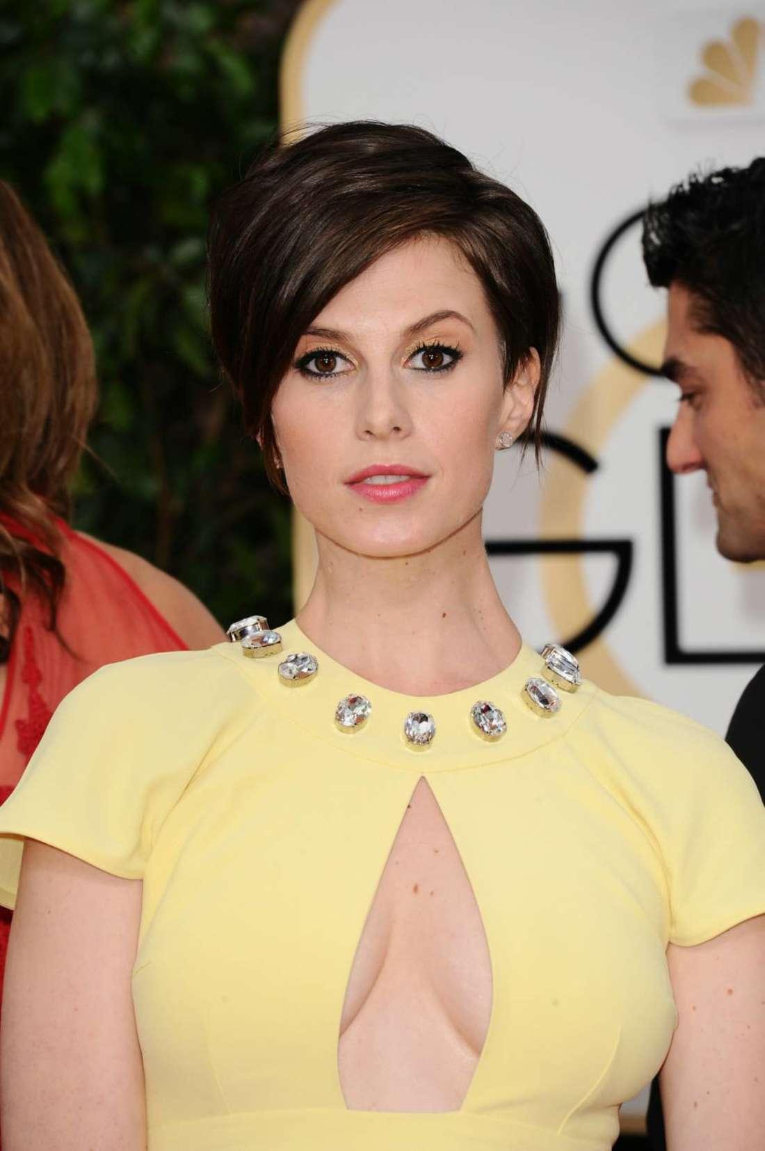 Elettra Rossellini Wiedemann Annual Golden Globe Awards in Beverly Hills
