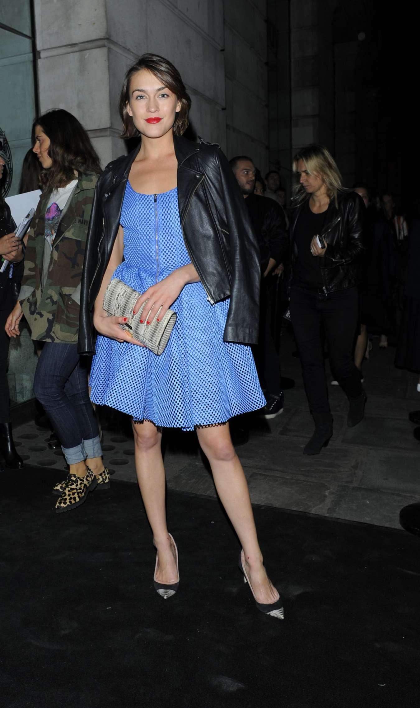 Ella Catliff Versus By Versace Fashion Show in London