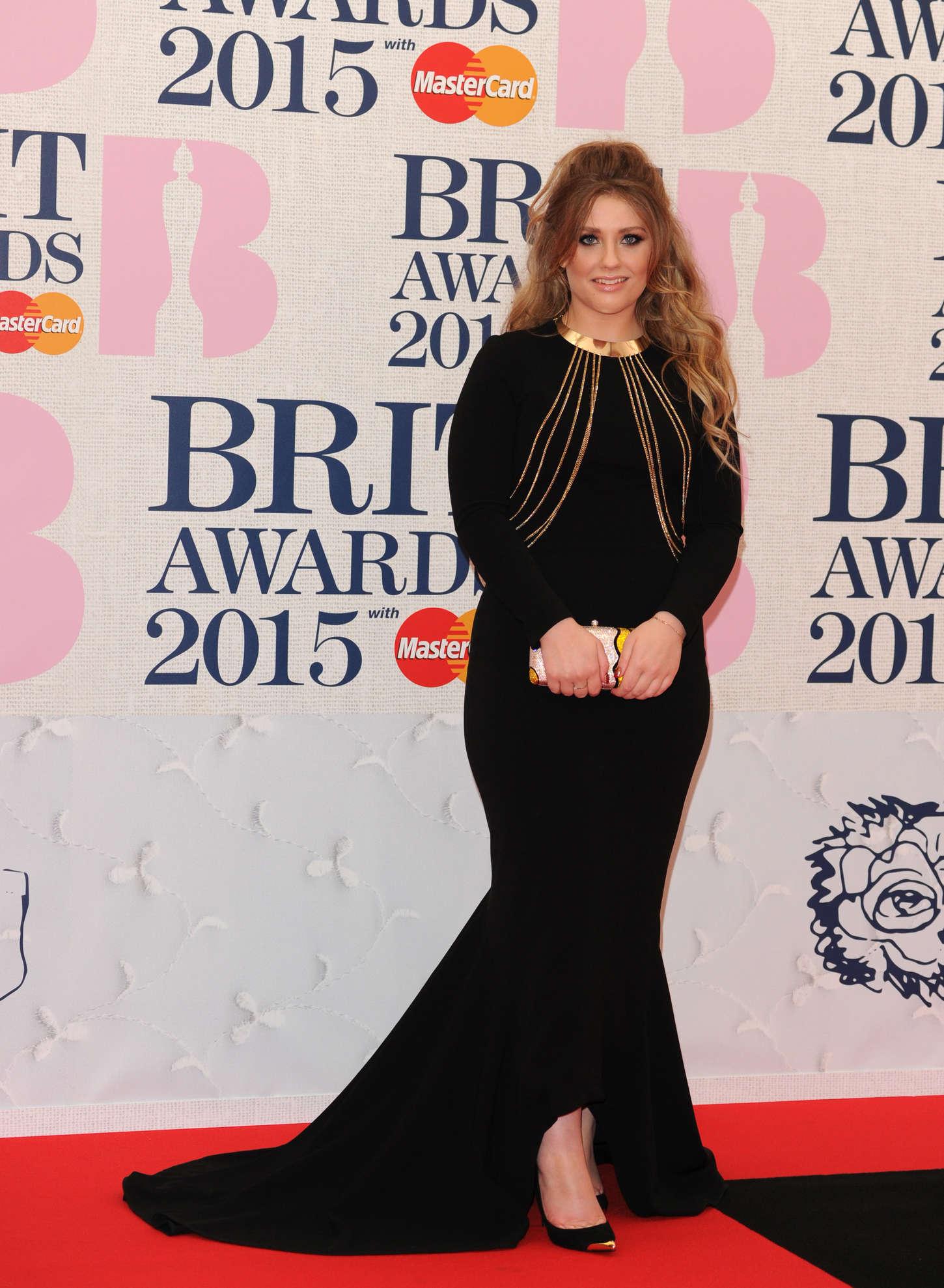 Ella Henderson BRIT Awards in London