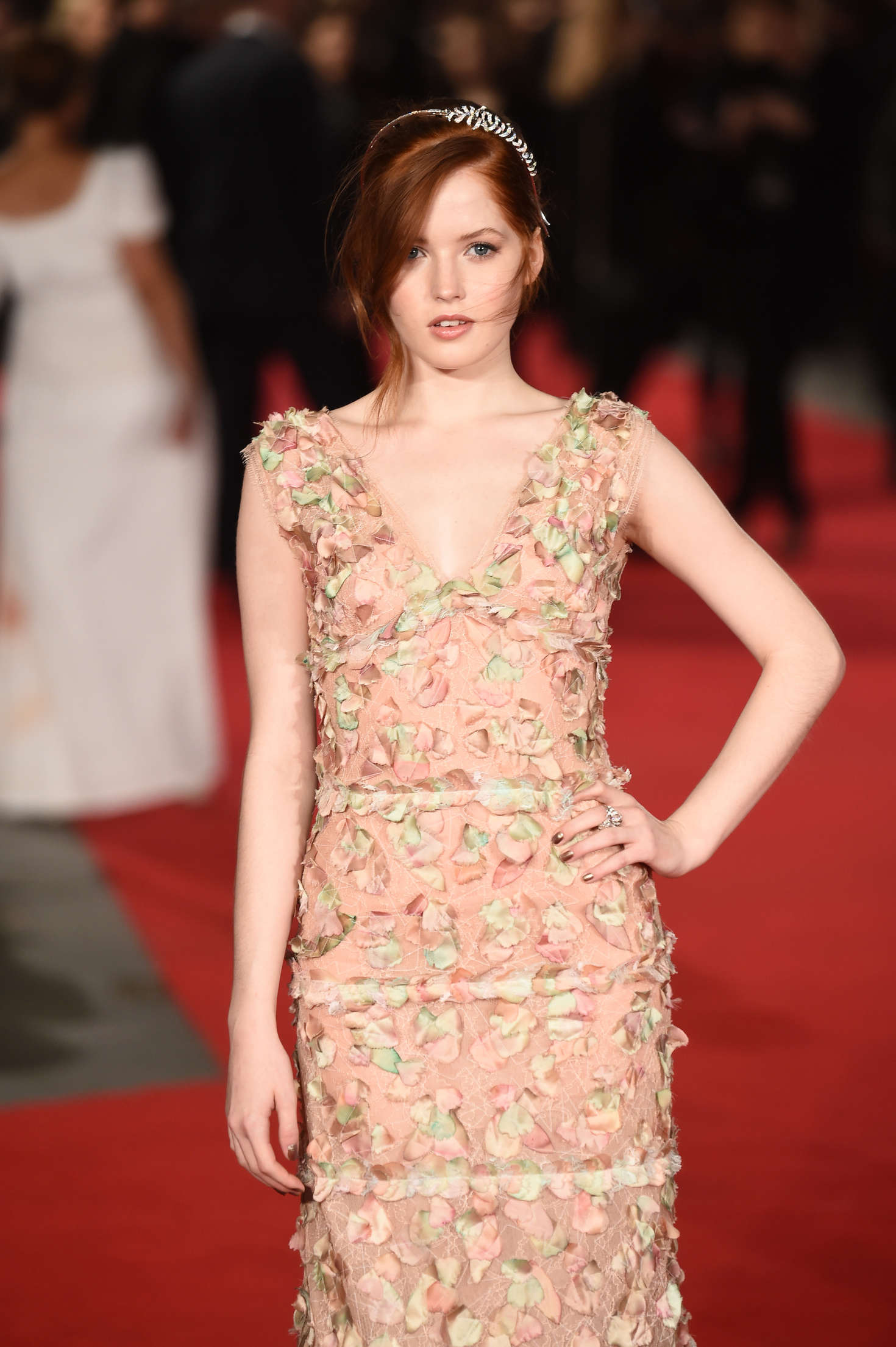 Ellie Bamber Pride and Prejudice and Zombies Premiere in London